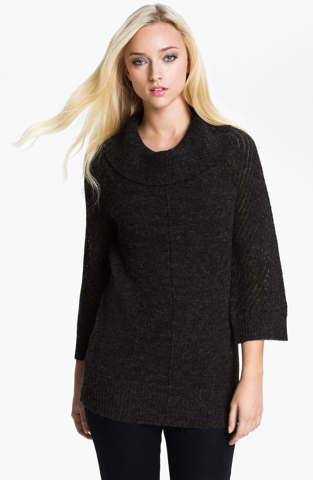 Main Image - Holistia Cowl Neck Alpaca Sweater