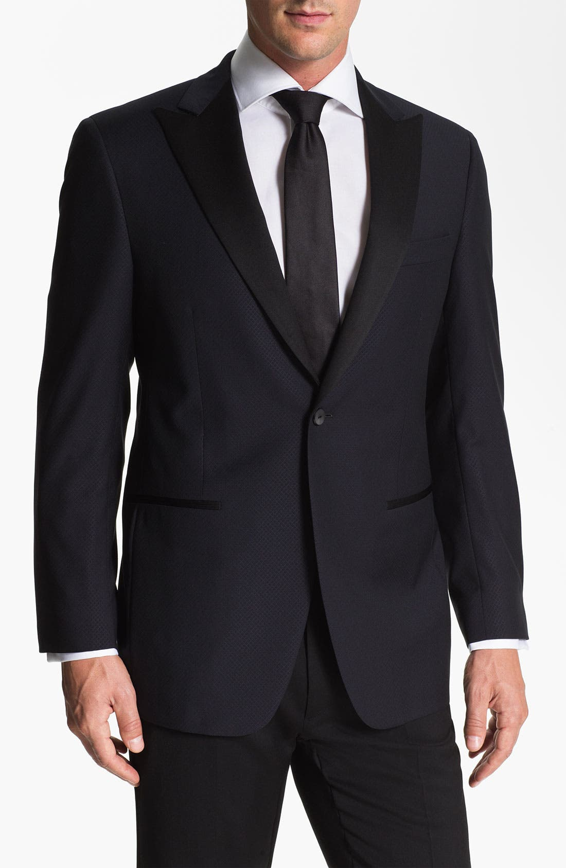 Alternate Image 1 Selected - Samuelsohn Peak Lapel Dinner Jacket