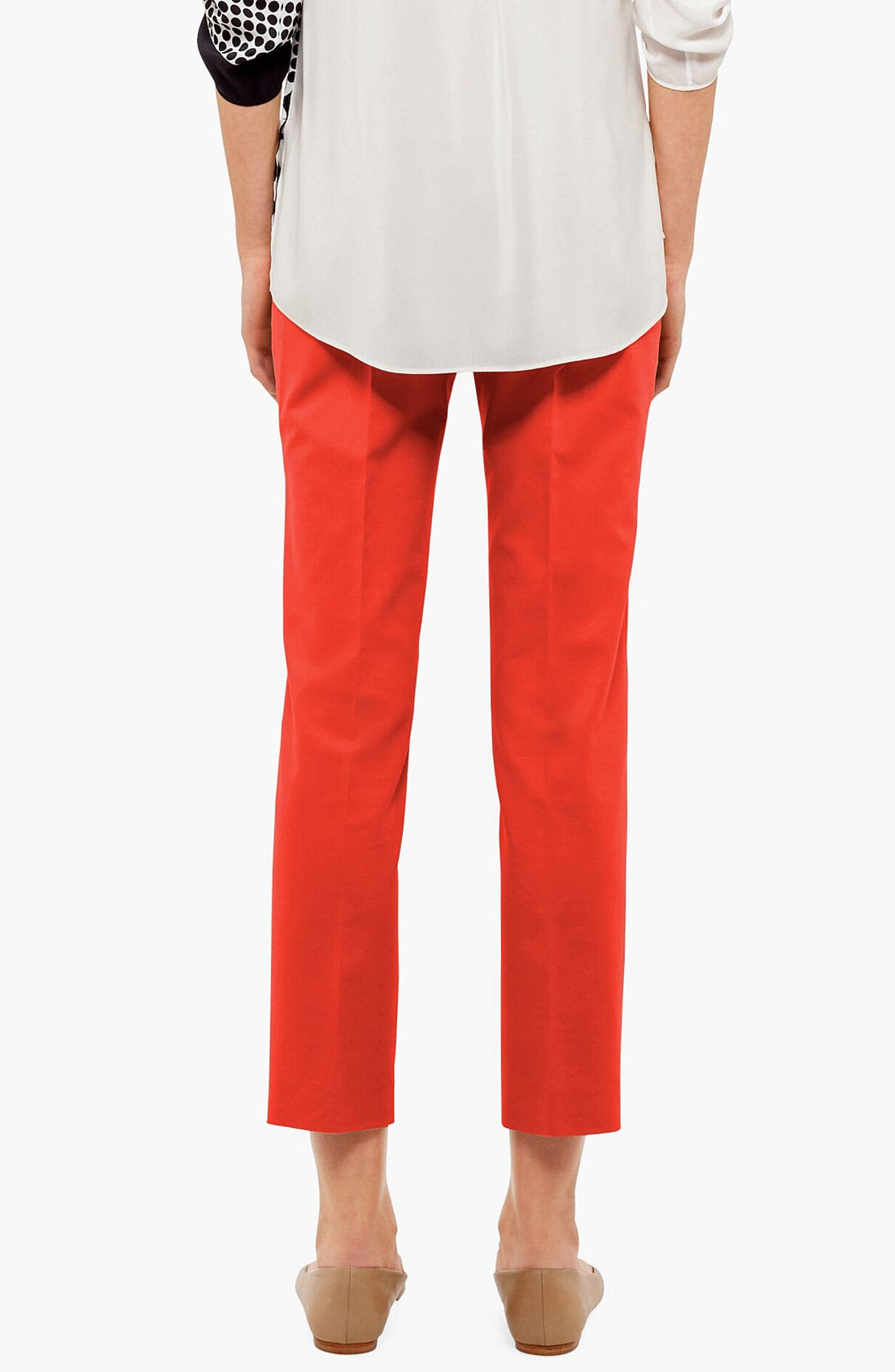 Alternate Image 2  - Akris punto 'Franca' Straight Leg Crop Pants