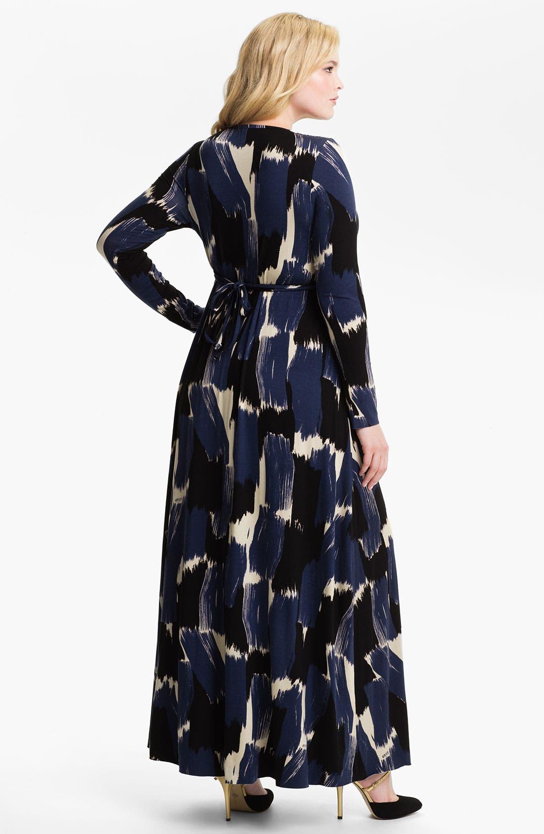 Alternate Image 2  - Rachel Pally Long Sleeve Maxi Dress (Plus)