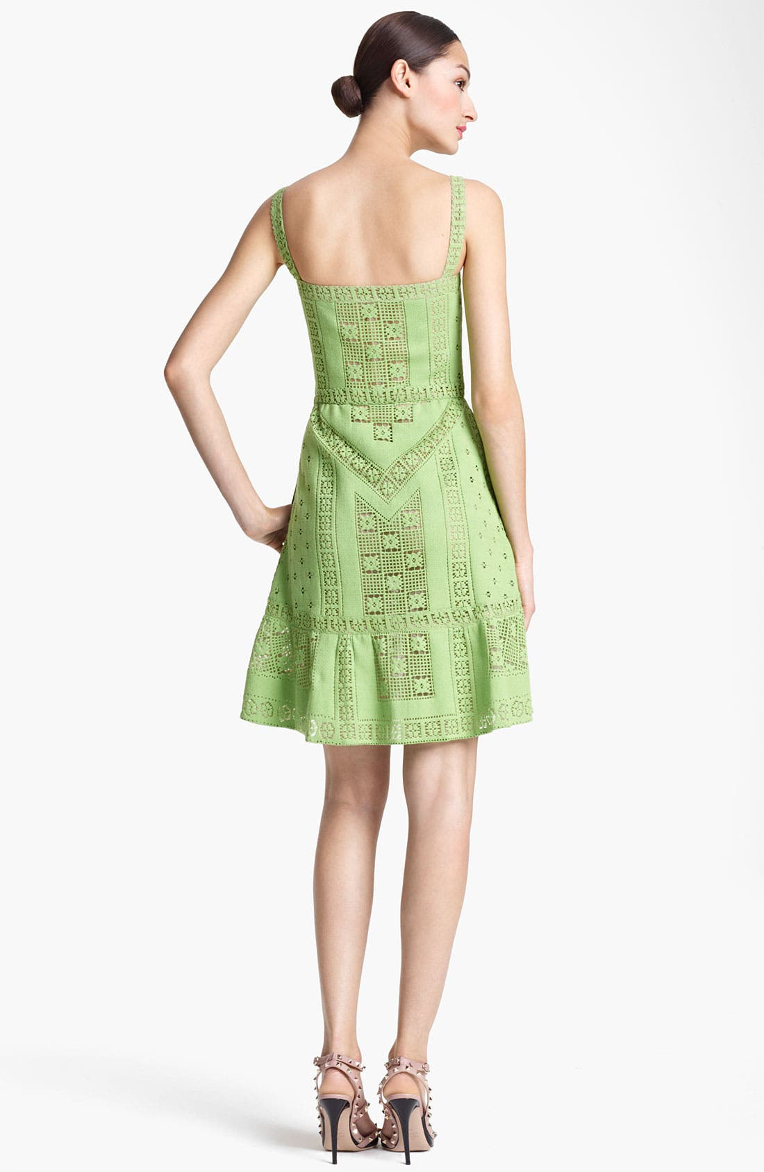 Alternate Image 2  - Valentino Lace Tank Dress