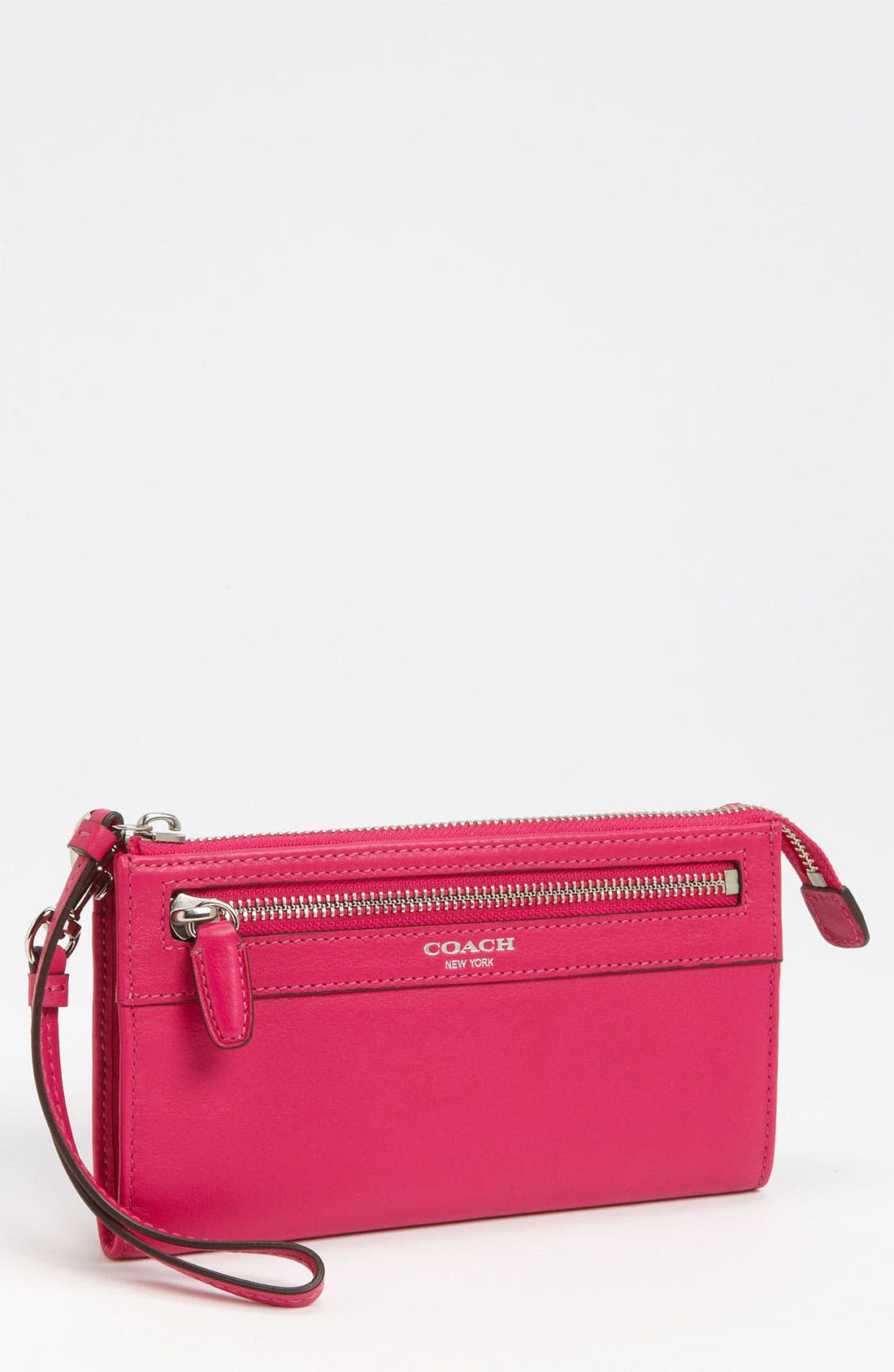 Main Image - COACH 'Legacy - Zippy' Leather Wallet