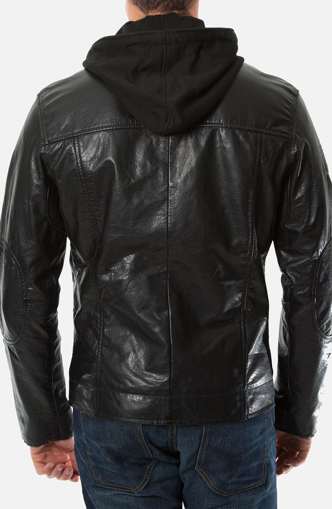 Alternate Image 2  - 7 Diamonds 'Tokyo' Leather Jacket