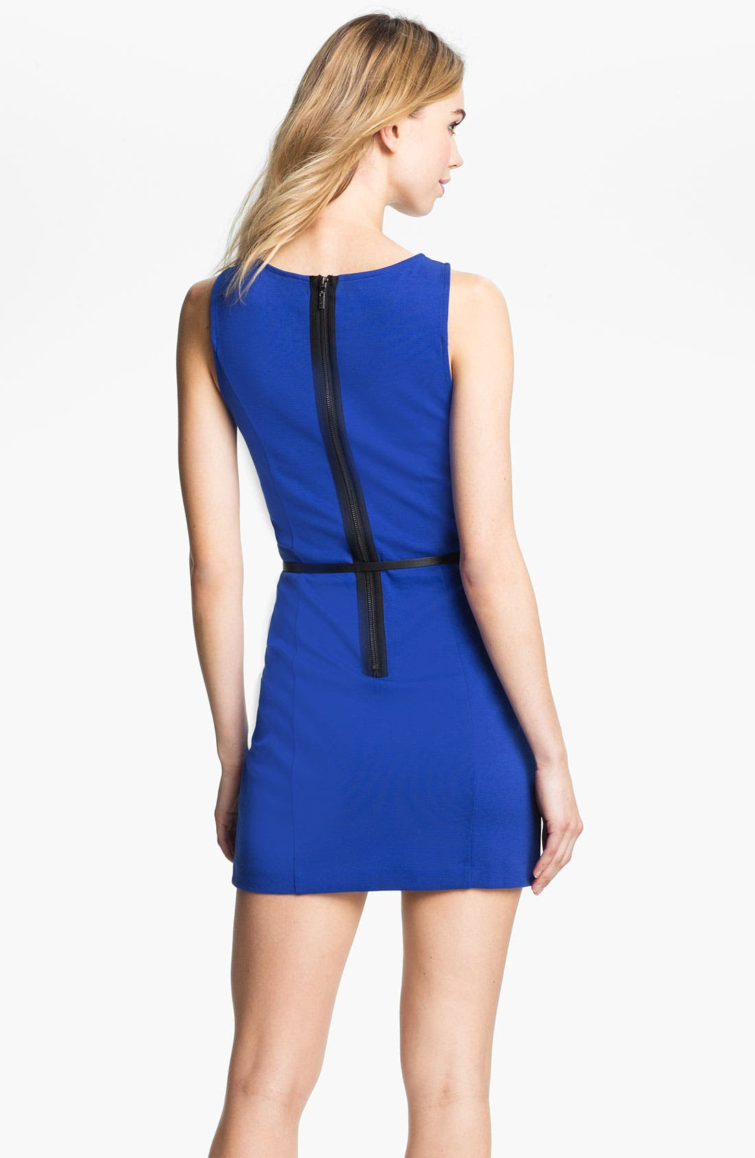 Alternate Image 2  - Kensie Belted Sheath Dress