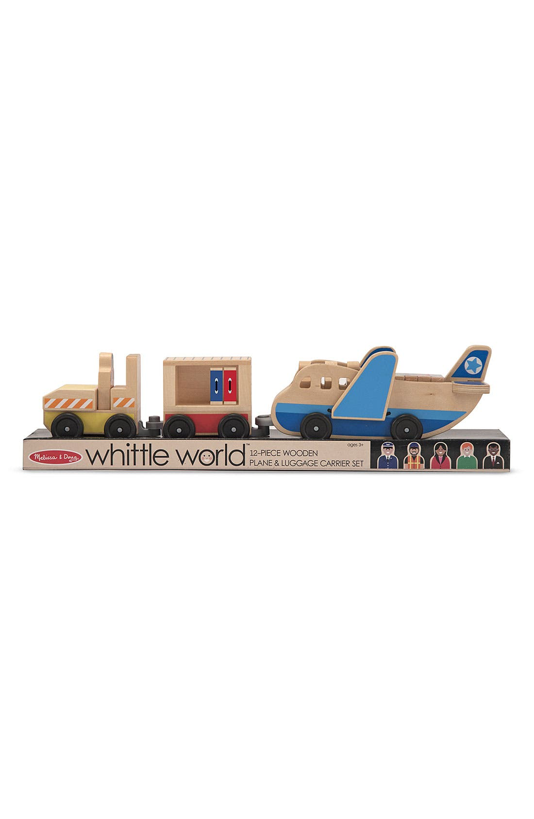 Alternate Image 2  - Melissa & Doug 'Whittle World - Airplane' Wooden Toy Set