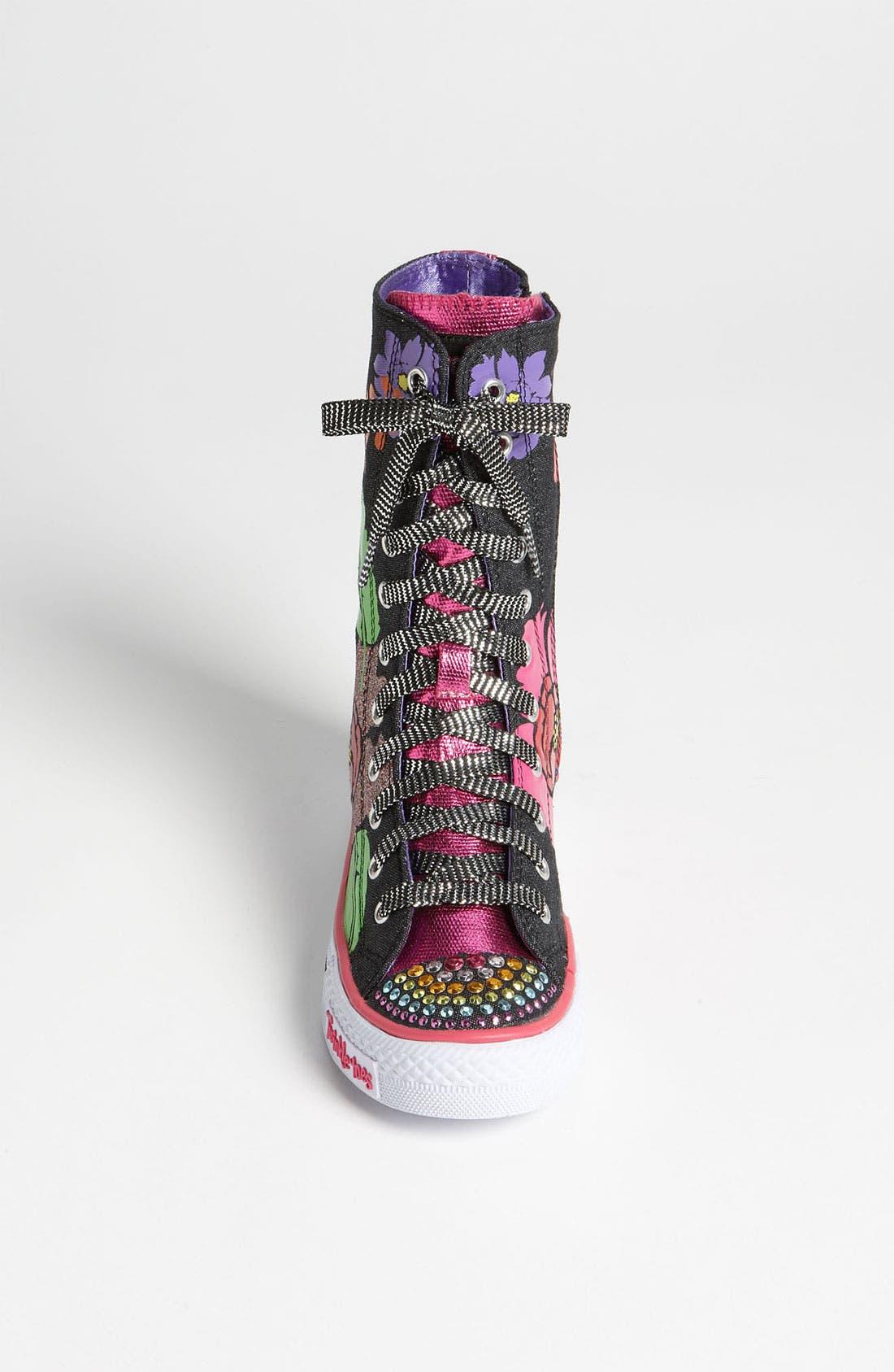 Alternate Image 3  - SKECHERS 'Twinkle Toes - Shuffles Love Stories' Sneaker (Toddler & Little Kid)