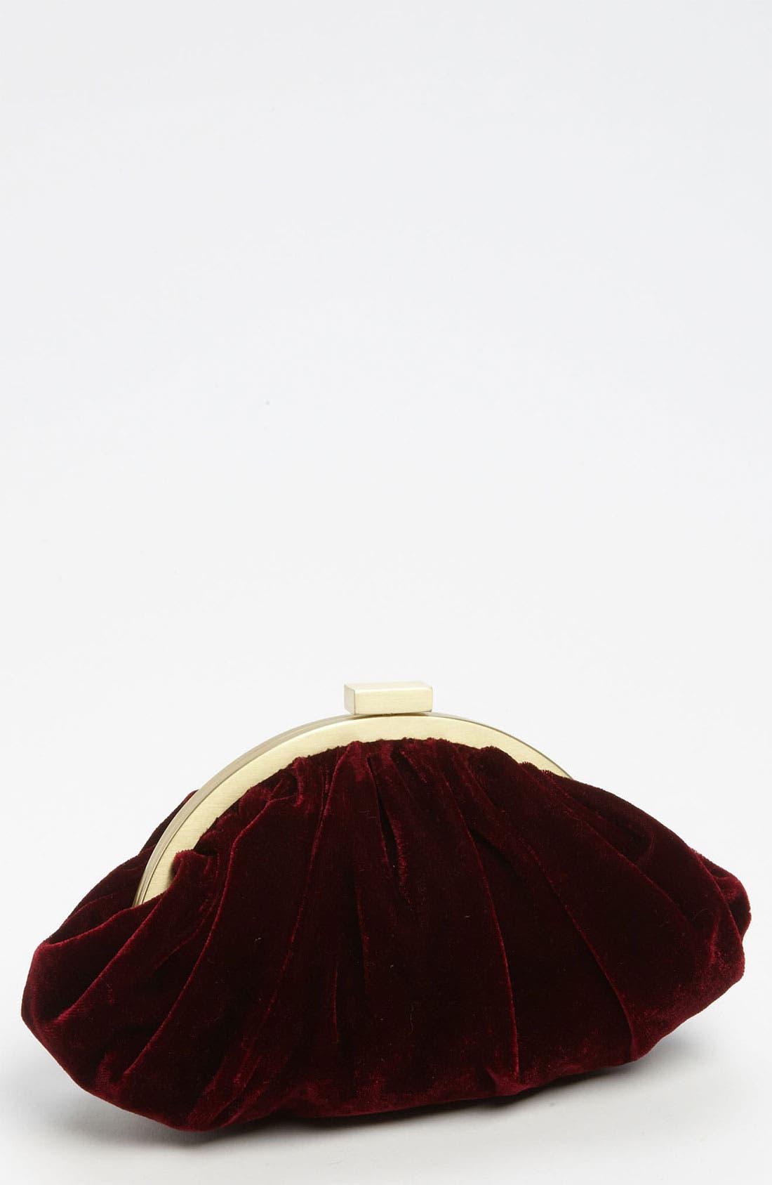 Main Image - Glint Velvet Pouchette