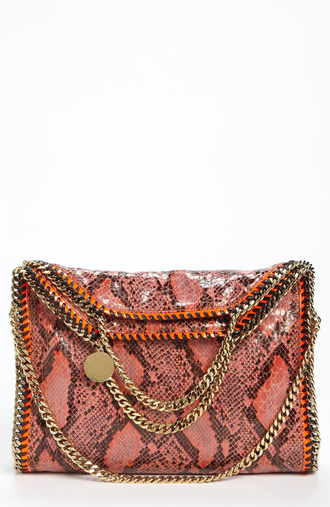 Main Image - Stella McCartney 'Falabella' Faux Python Handbag