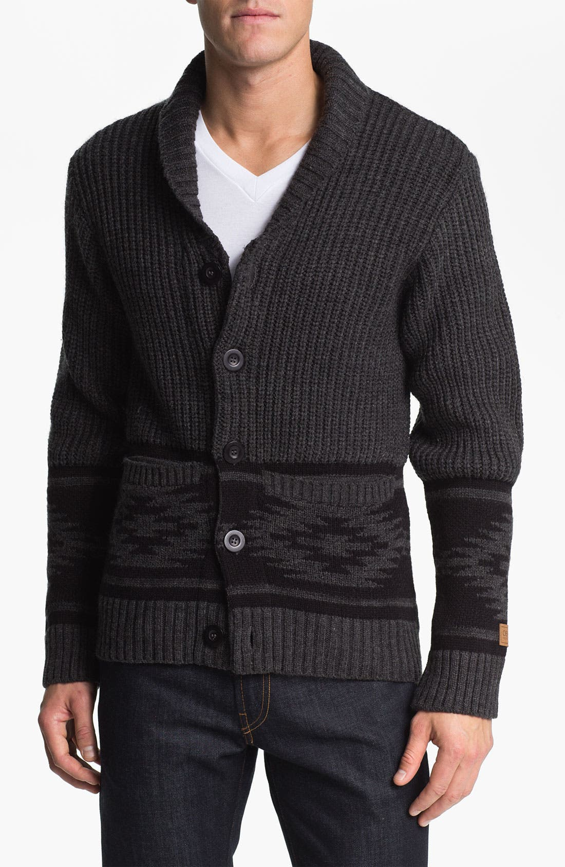 Alternate Image 1 Selected - Obey 'Tok' Shawl Collar Cardigan