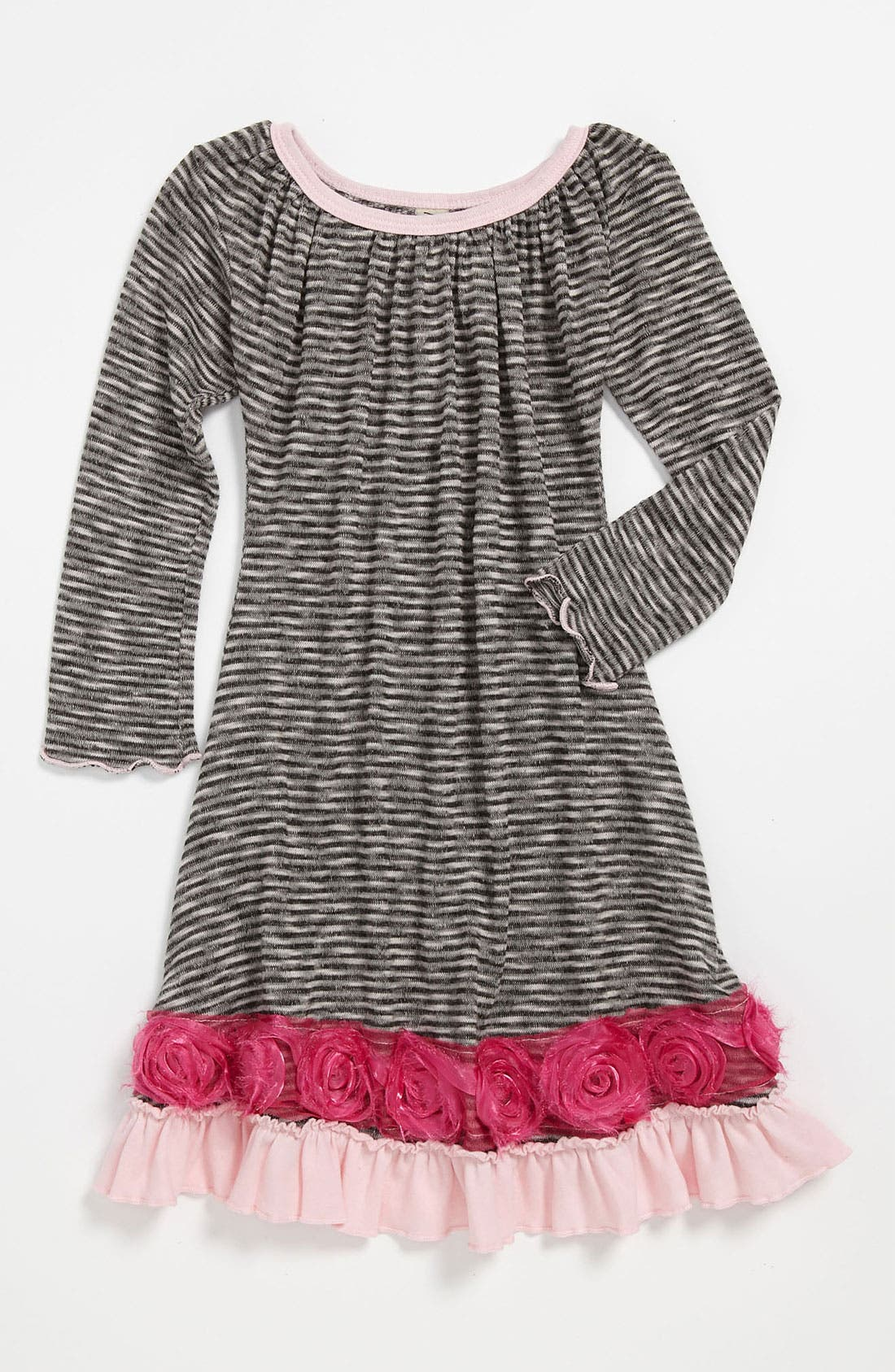 Alternate Image 1 Selected - Mignone Stripe Dress (Toddler)
