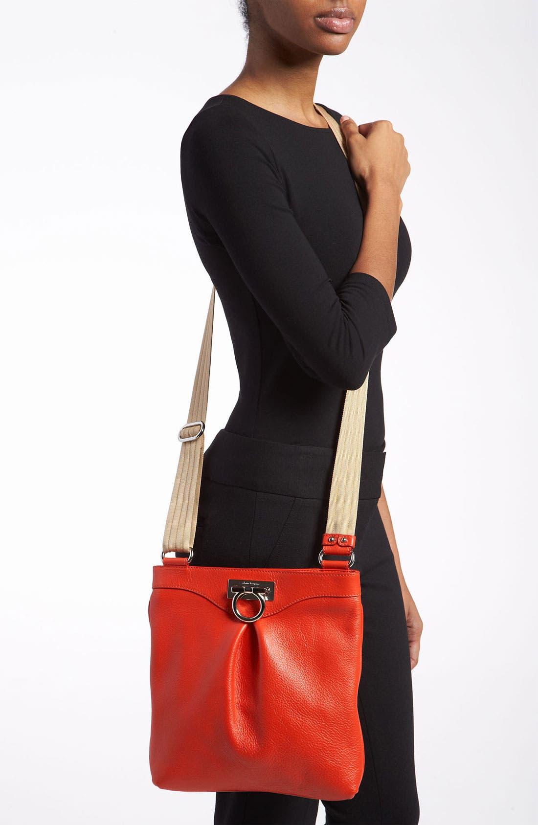 Alternate Image 2  - Salvatore Ferragamo 'Grazielle Vitello' Leather Crossbody Bag