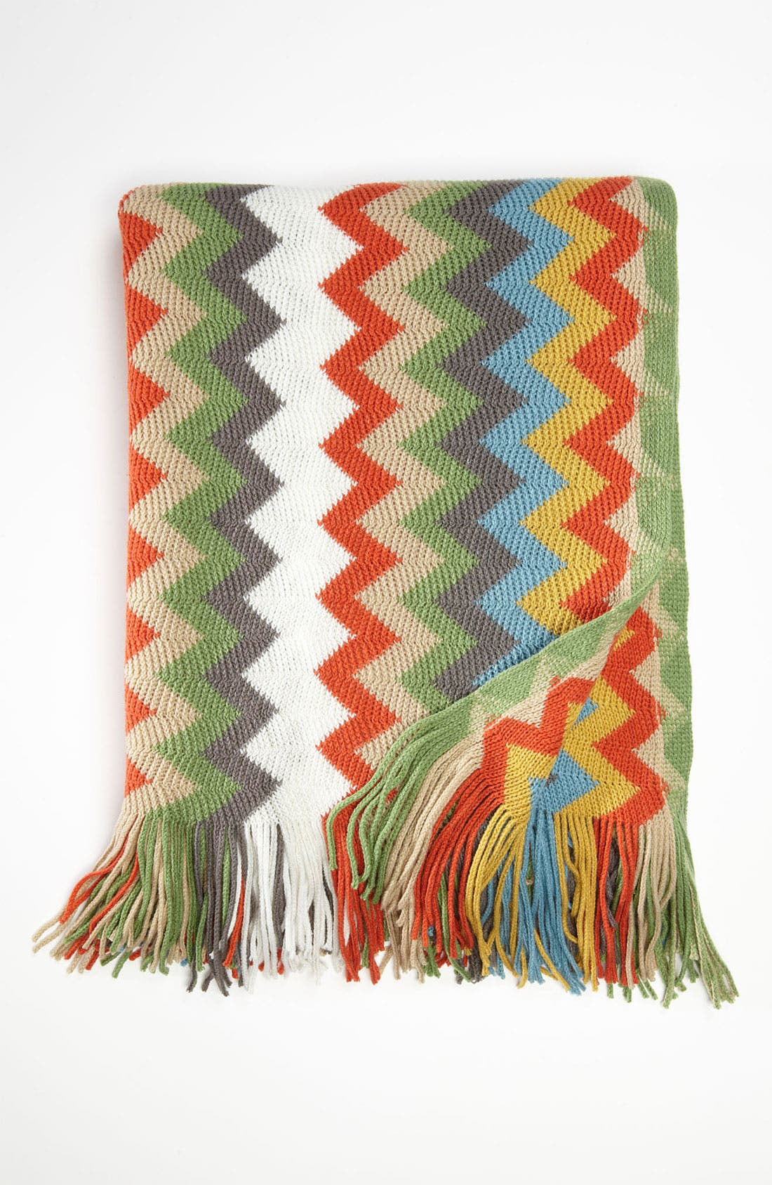 Alternate Image 1 Selected - Kennebunk Home Zigzag Throw