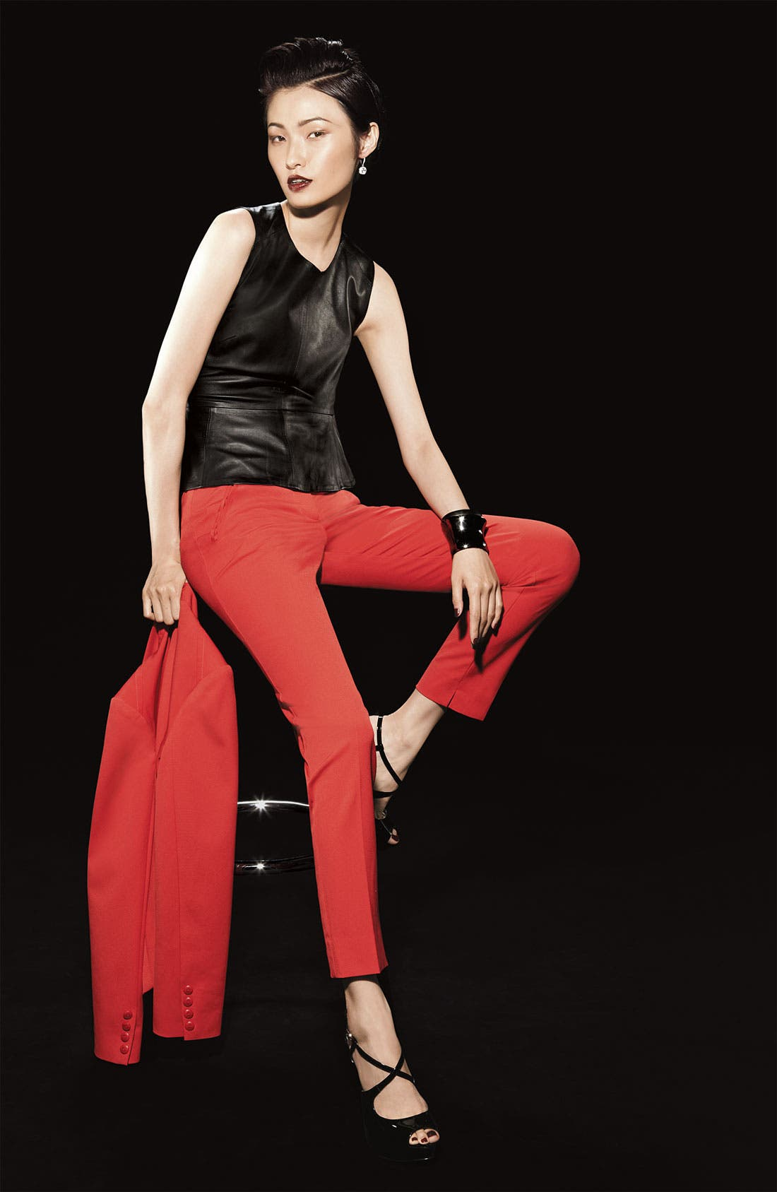 Alternate Image 4  - Trina Turk 'Solitaire' Skinny Pants