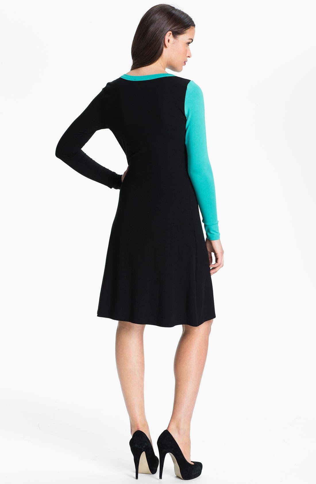 Alternate Image 2  - Karen Kane Colorblock Dress