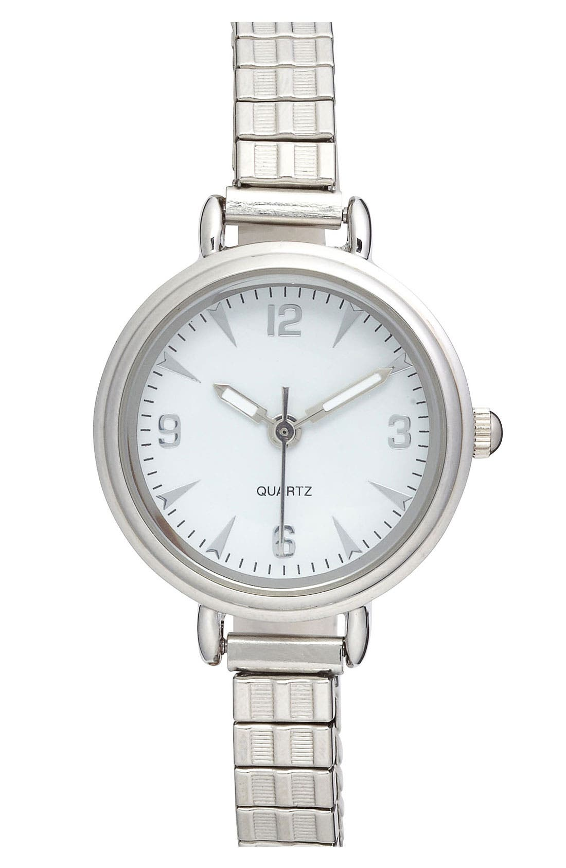 Alternate Image 1 Selected - Titanium 'Dainty' Stretch Watch
