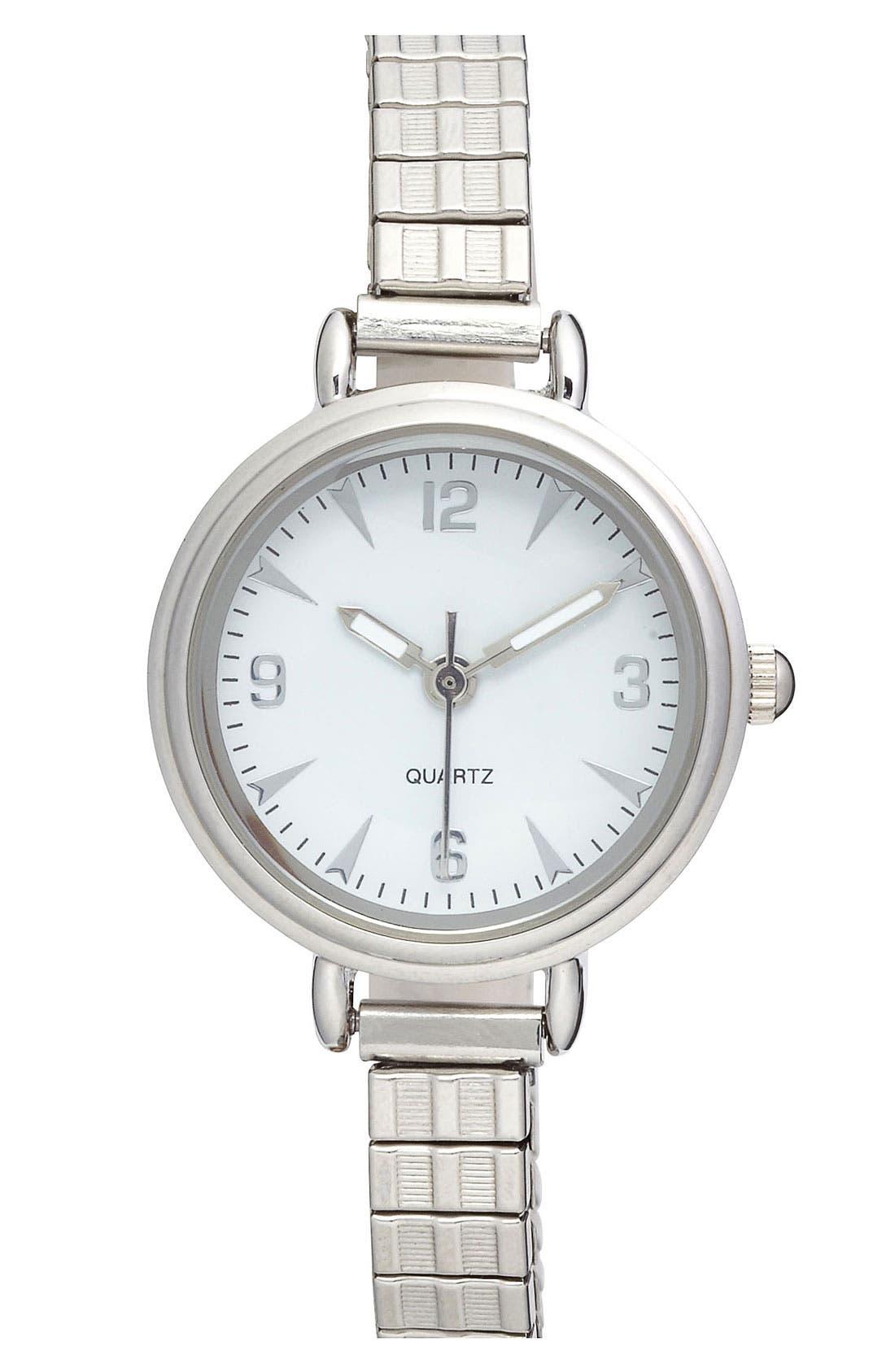 Main Image - Titanium 'Dainty' Stretch Watch