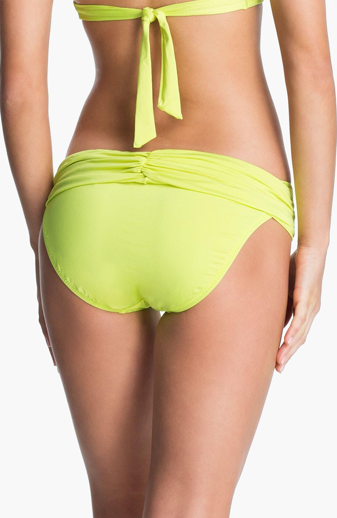 Alternate Image 2  - Trina Turk Sash Waistband Hipster Bikini Bottoms