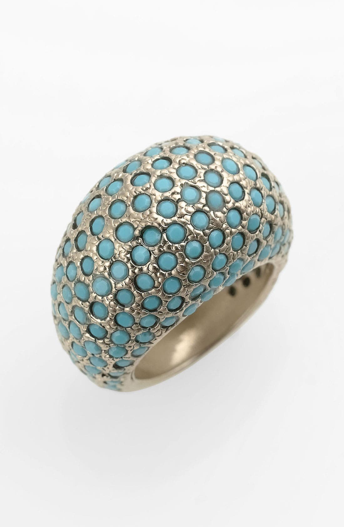 Alternate Image 1 Selected - St. John Collection Swarovski Crystal Dome Ring