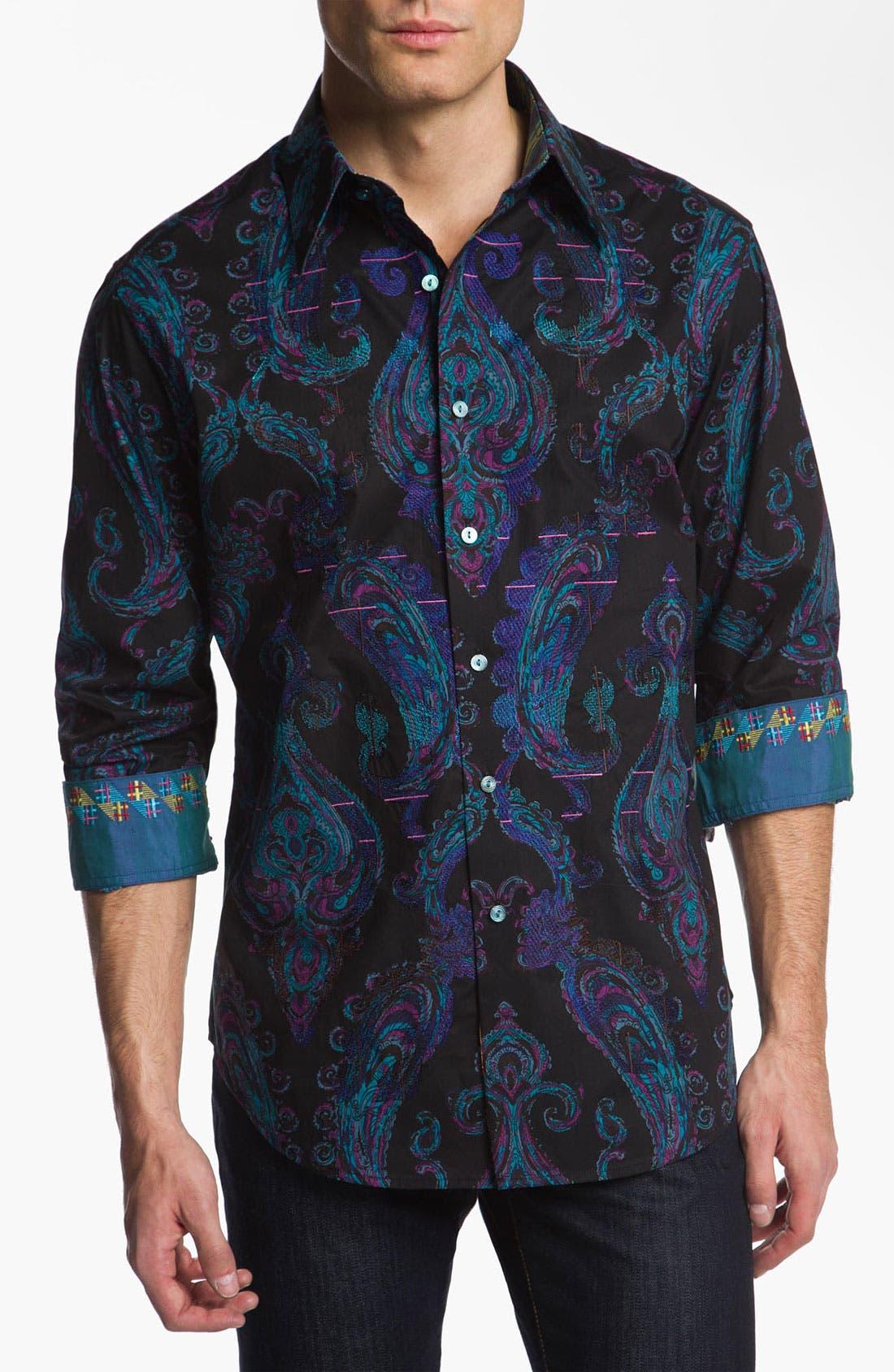 Alternate Image 1 Selected - Robert Graham 'Royal' Sport Shirt