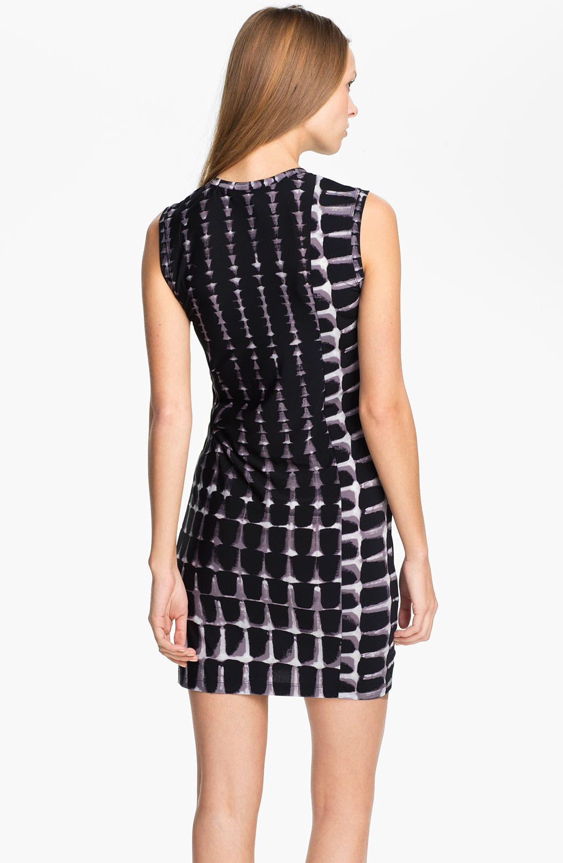 Alternate Image 2  - BCBGMAXAZRIA Knit Shift Dress
