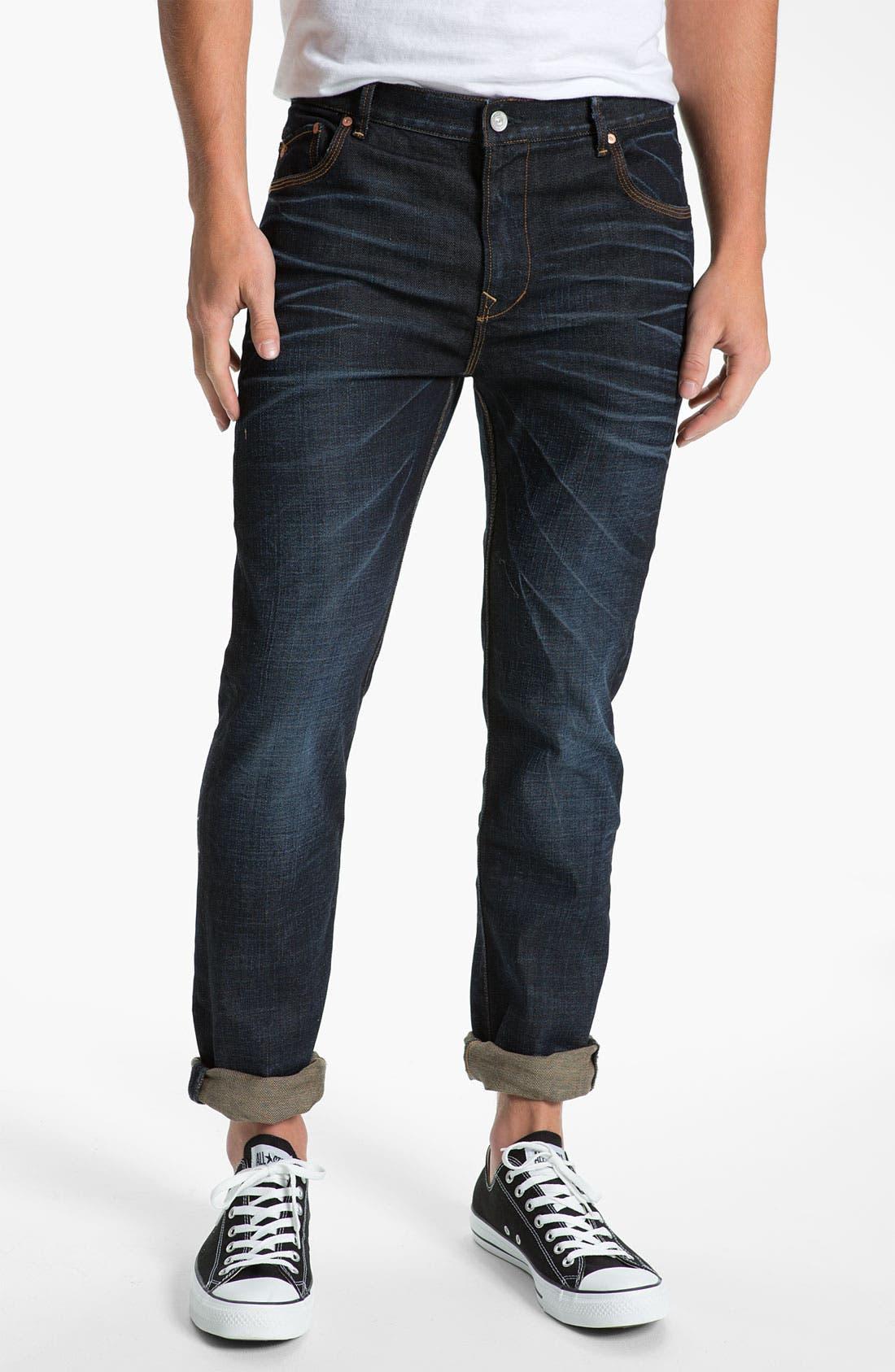 Alternate Image 2  - WeSC 'Eddy' Slim Fit Jeans (Three Months)