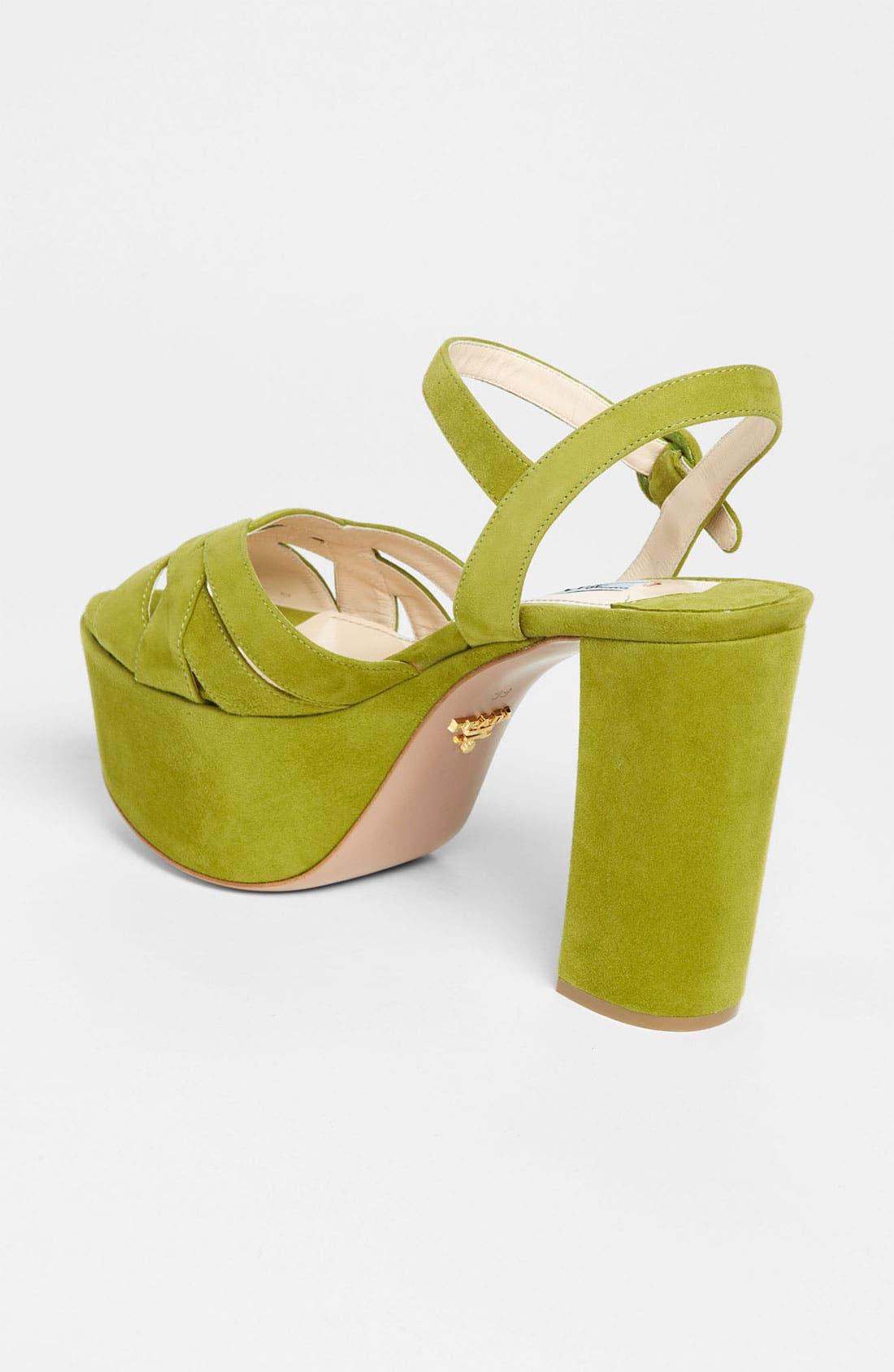 Alternate Image 2  - Prada Strap Platform Sandal