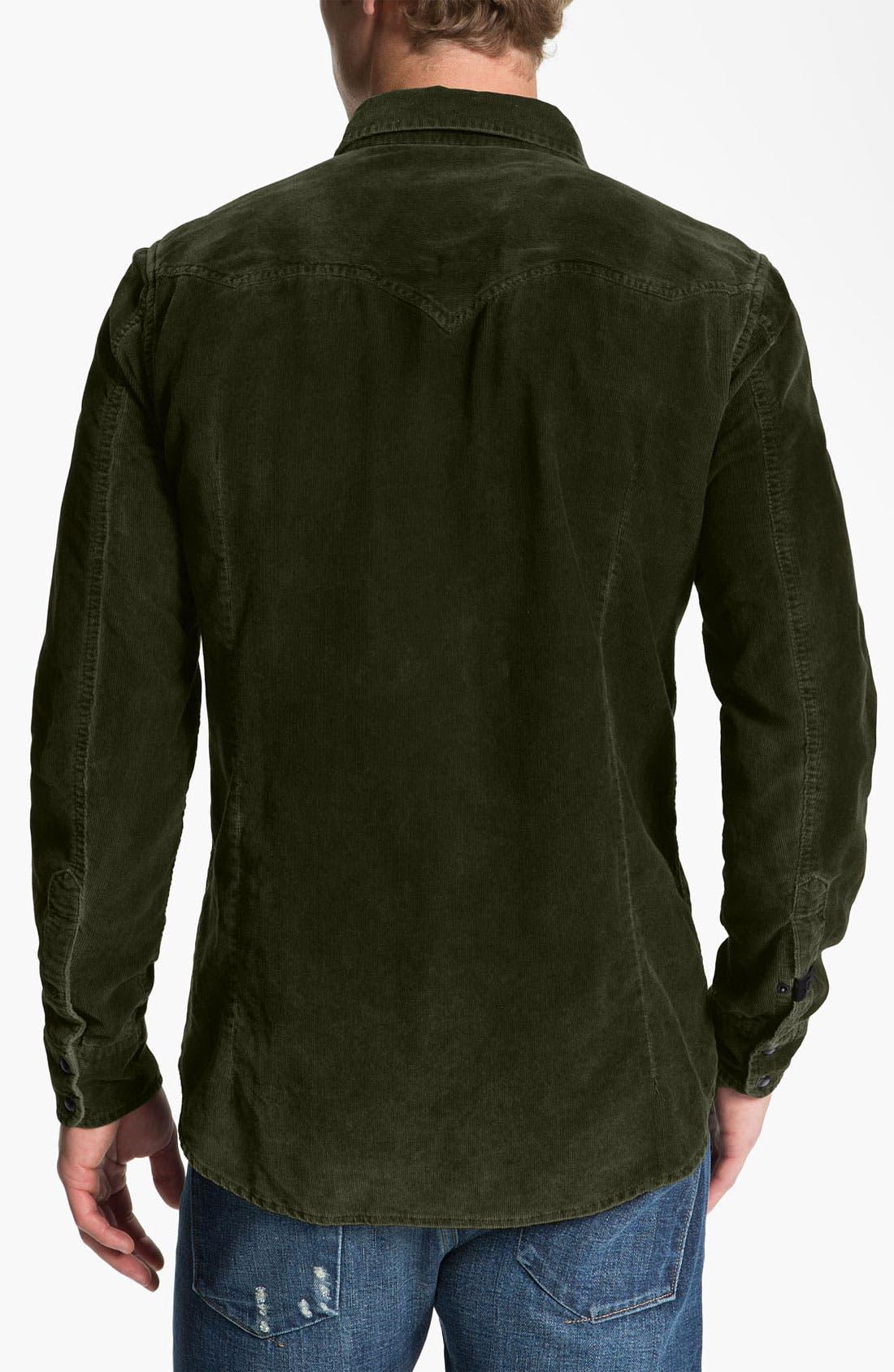 Alternate Image 2  - DIESEL® 'Svarog' Corduroy Shirt