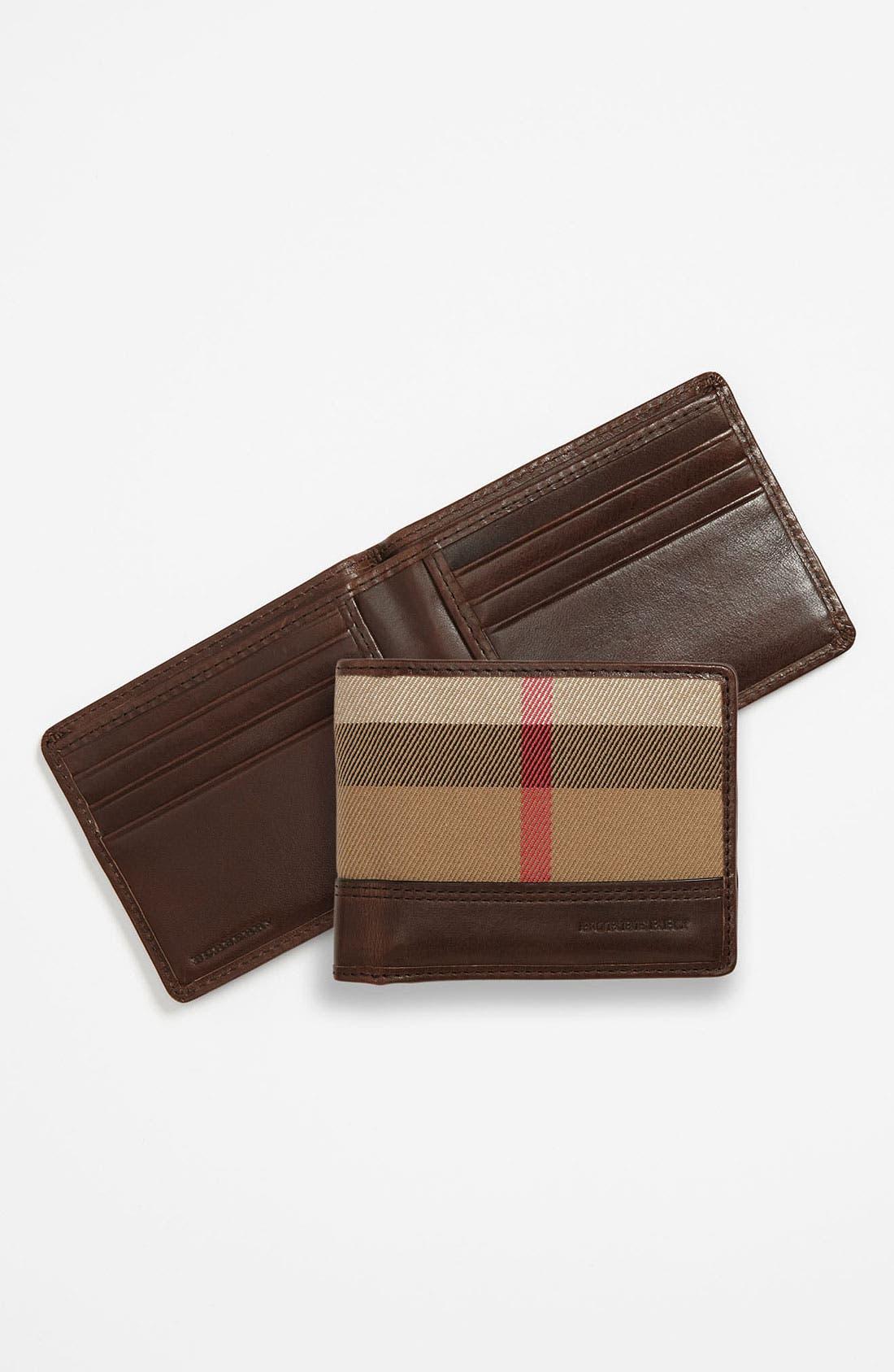 Main Image - Burberry Hip Wallet