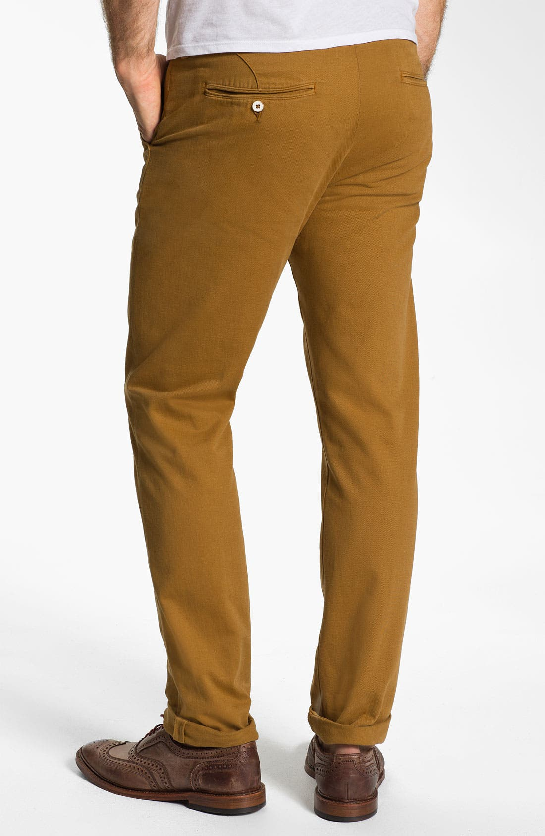 Alternate Image 2  - Levi's® Made & Crafted™ 'Drill' Cotton & Linen Chinos