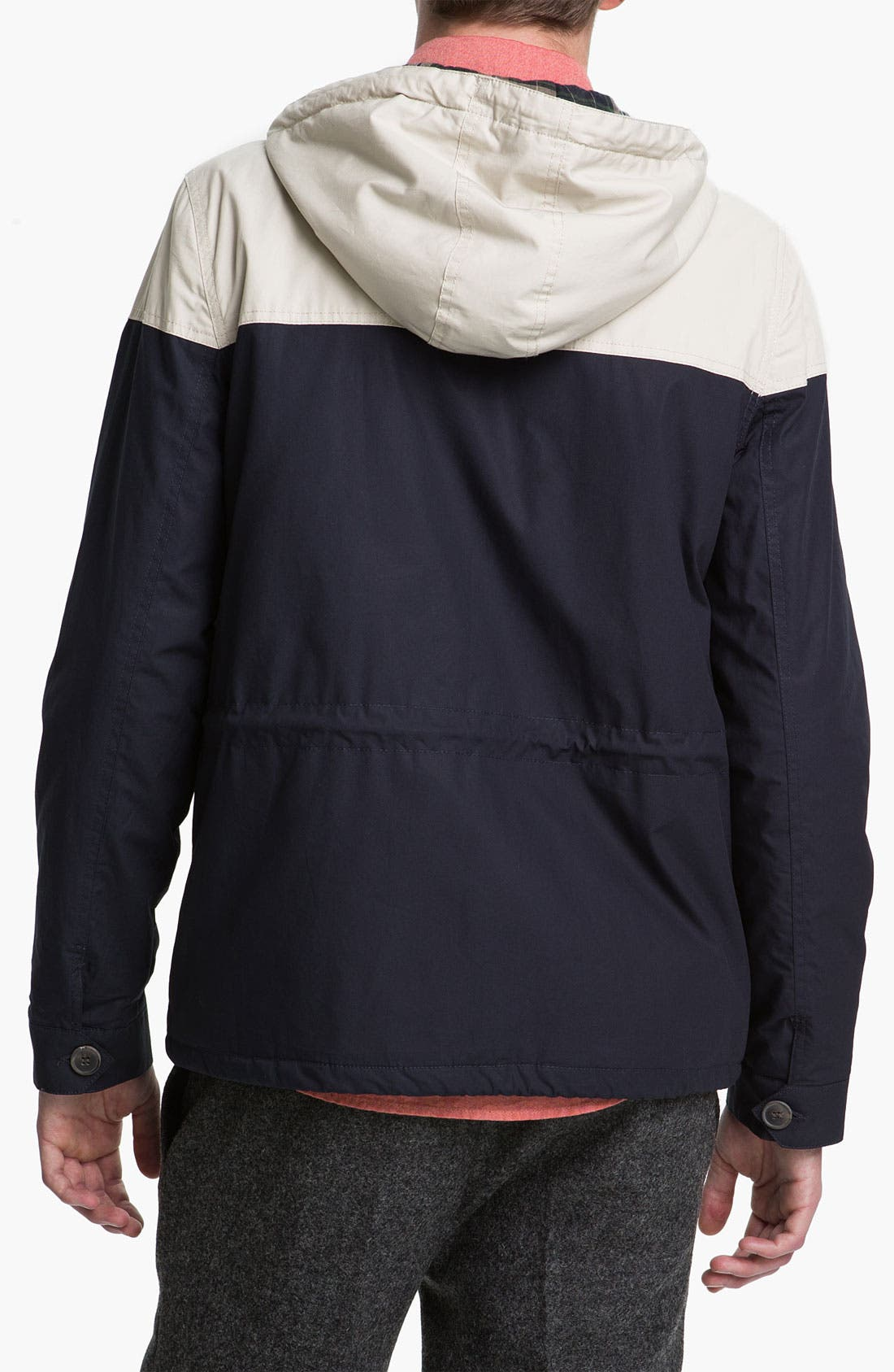 Alternate Image 2  - Topman Colorblock Trek Jacket