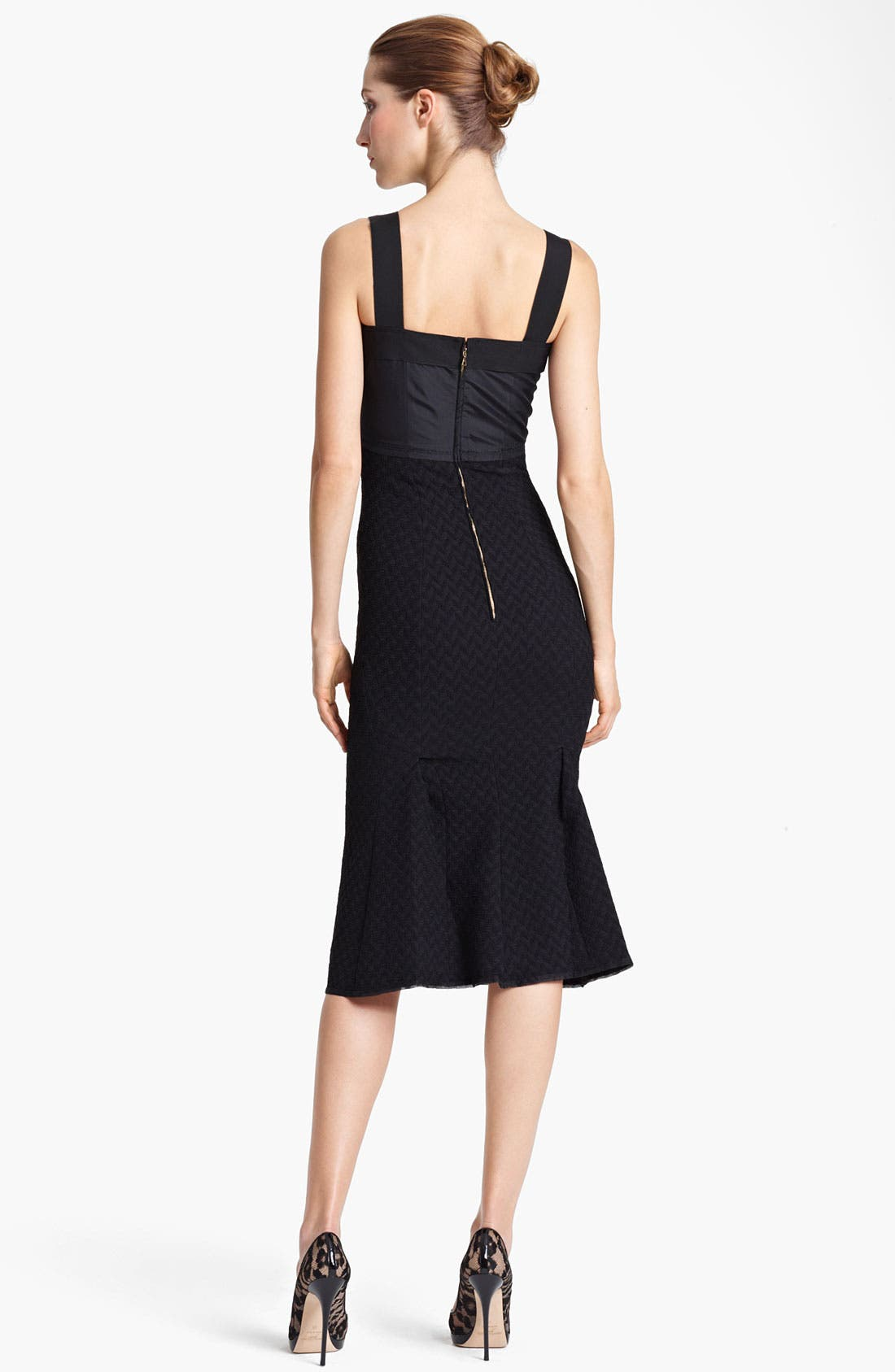Alternate Image 2  - Nina Ricci Tweed Sheath Dress