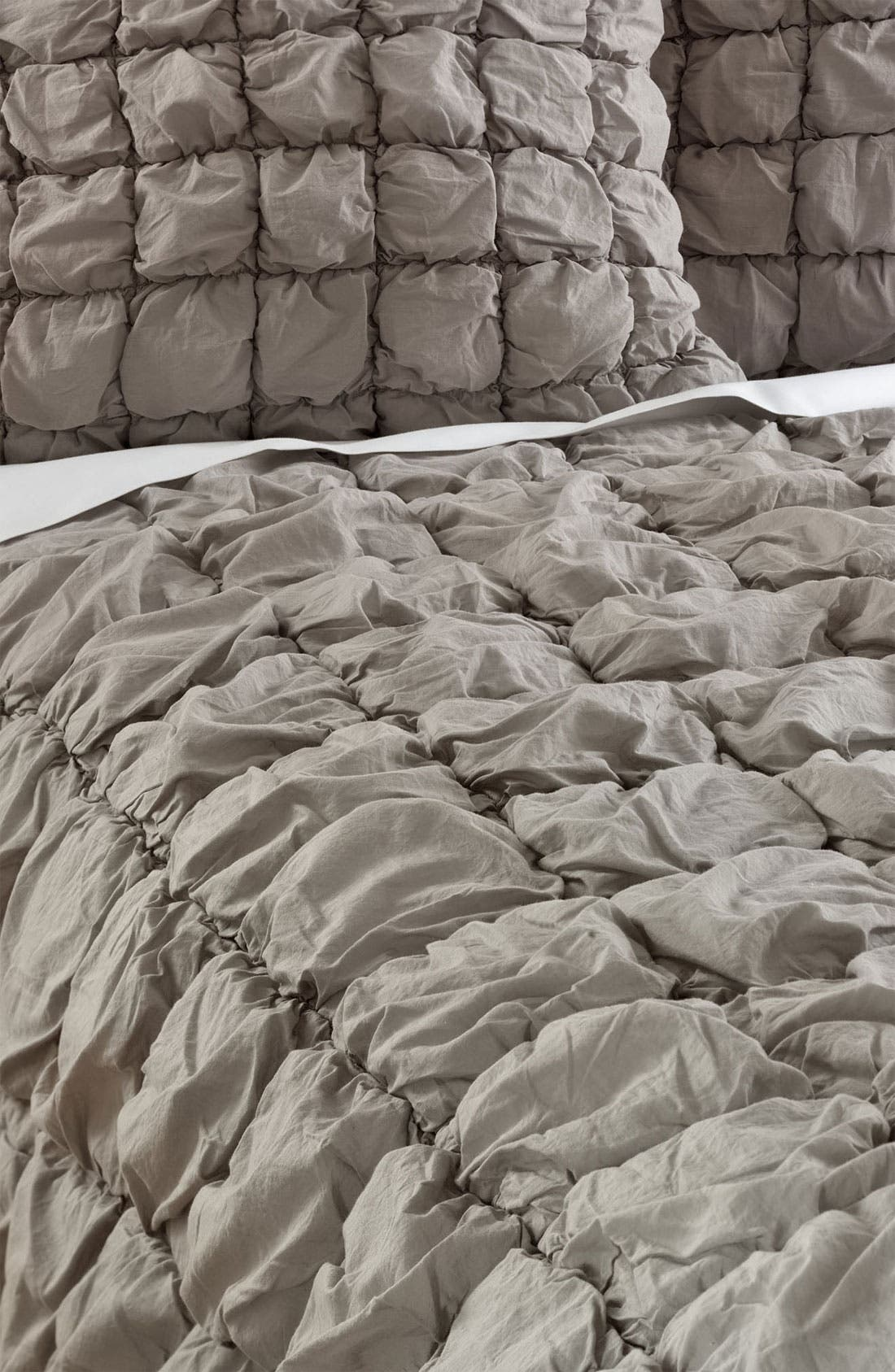 Alternate Image 1 Selected - Nordstrom at Home 'Ruched Squares' Comforter