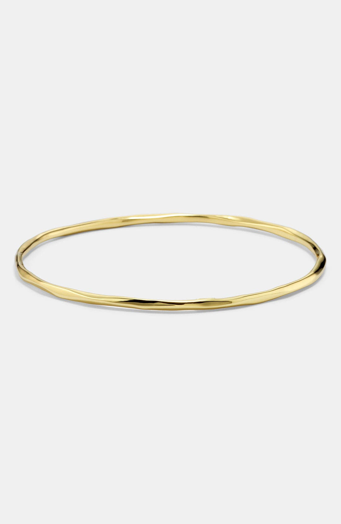 Alternate Image 1 Selected - Ippolita 'Glamazon' Faceted 18k Gold Bangle