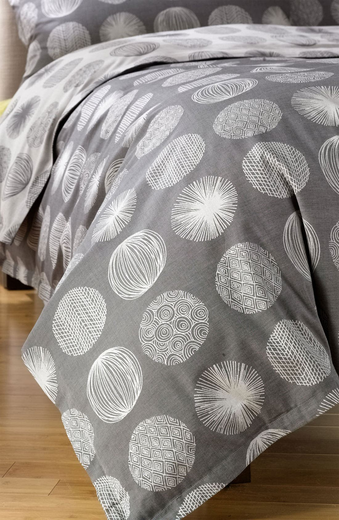 Alternate Image 1 Selected - Nordstrom at Home 'Scribble Dots' 300 Thread Count Jacquard Duvet Cover