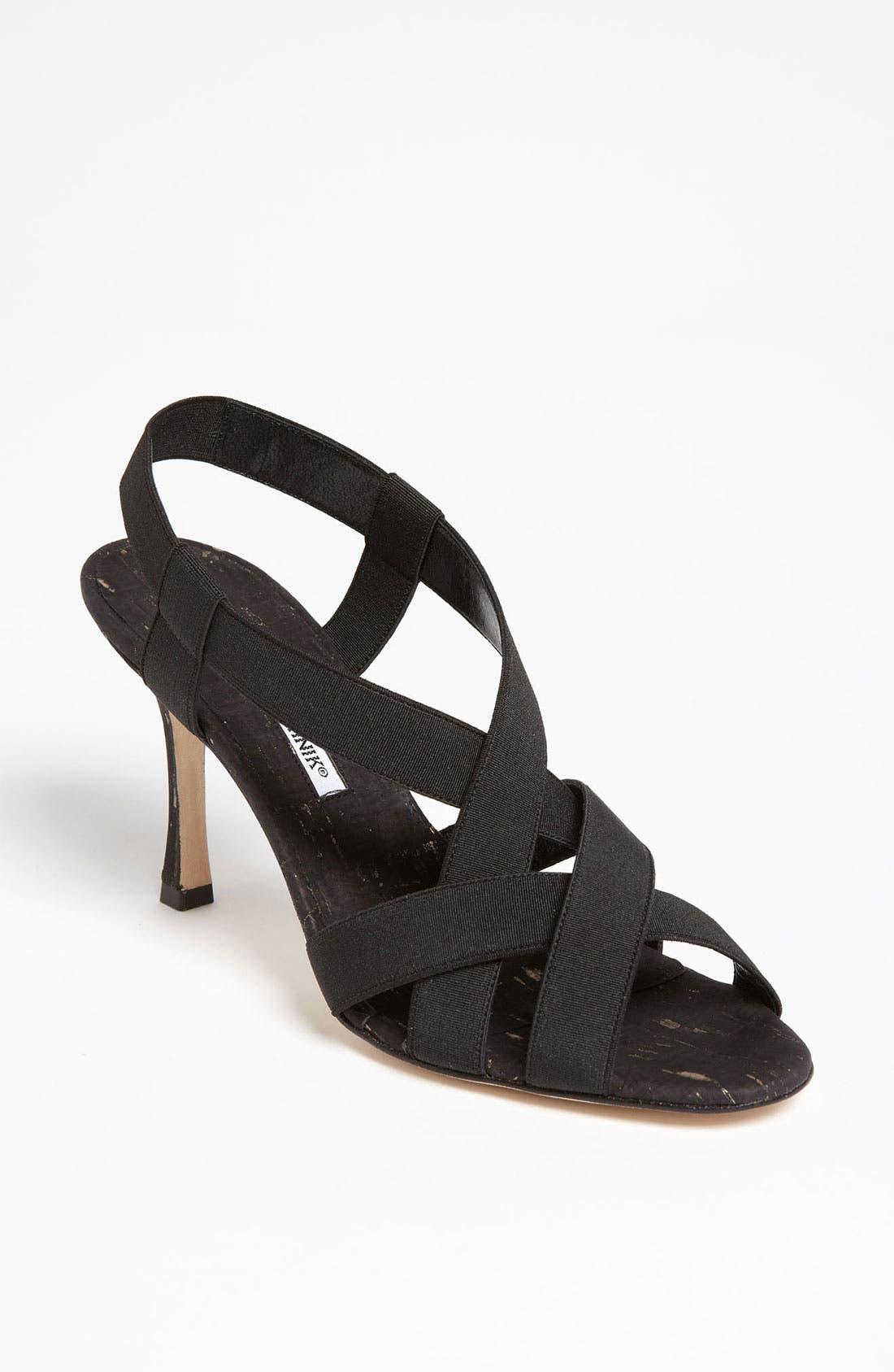 Alternate Image 1 Selected - Manolo Blahnik 'Lasti' Sandal