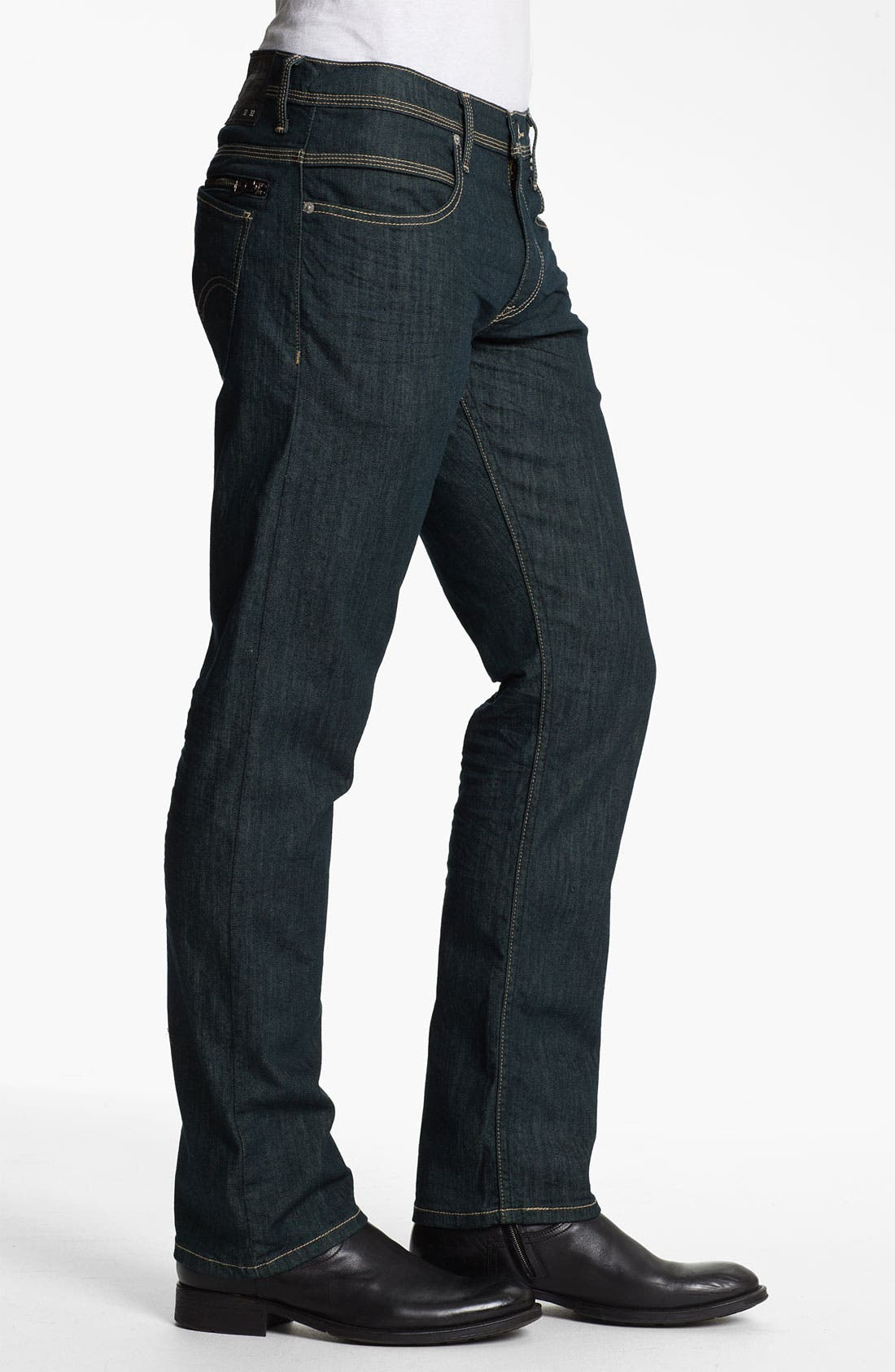 Alternate Image 3  - Levi's® '514™' Slim Straight Leg Jeans (Rinsed Playa)