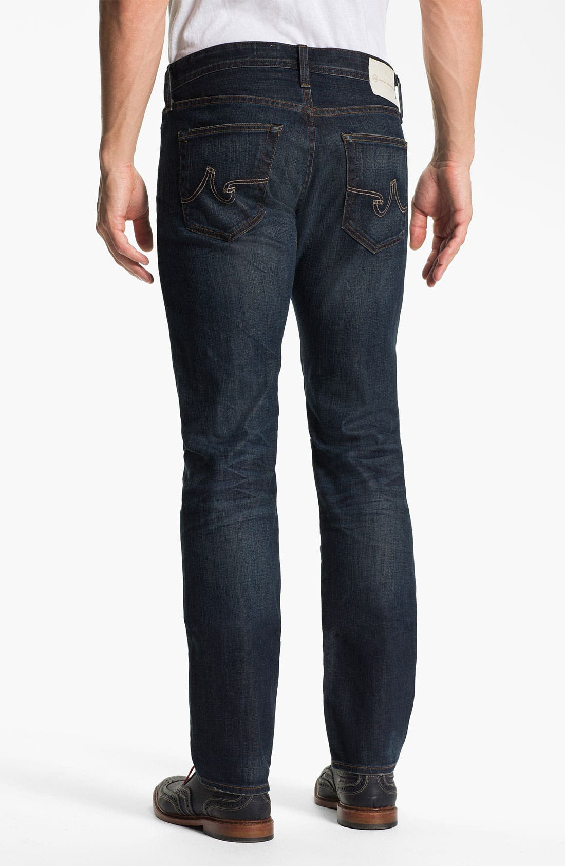 Alternate Image 2  - AG Jeans 'Matchbox' Slim Straight Leg Jeans (4 Year Matte)