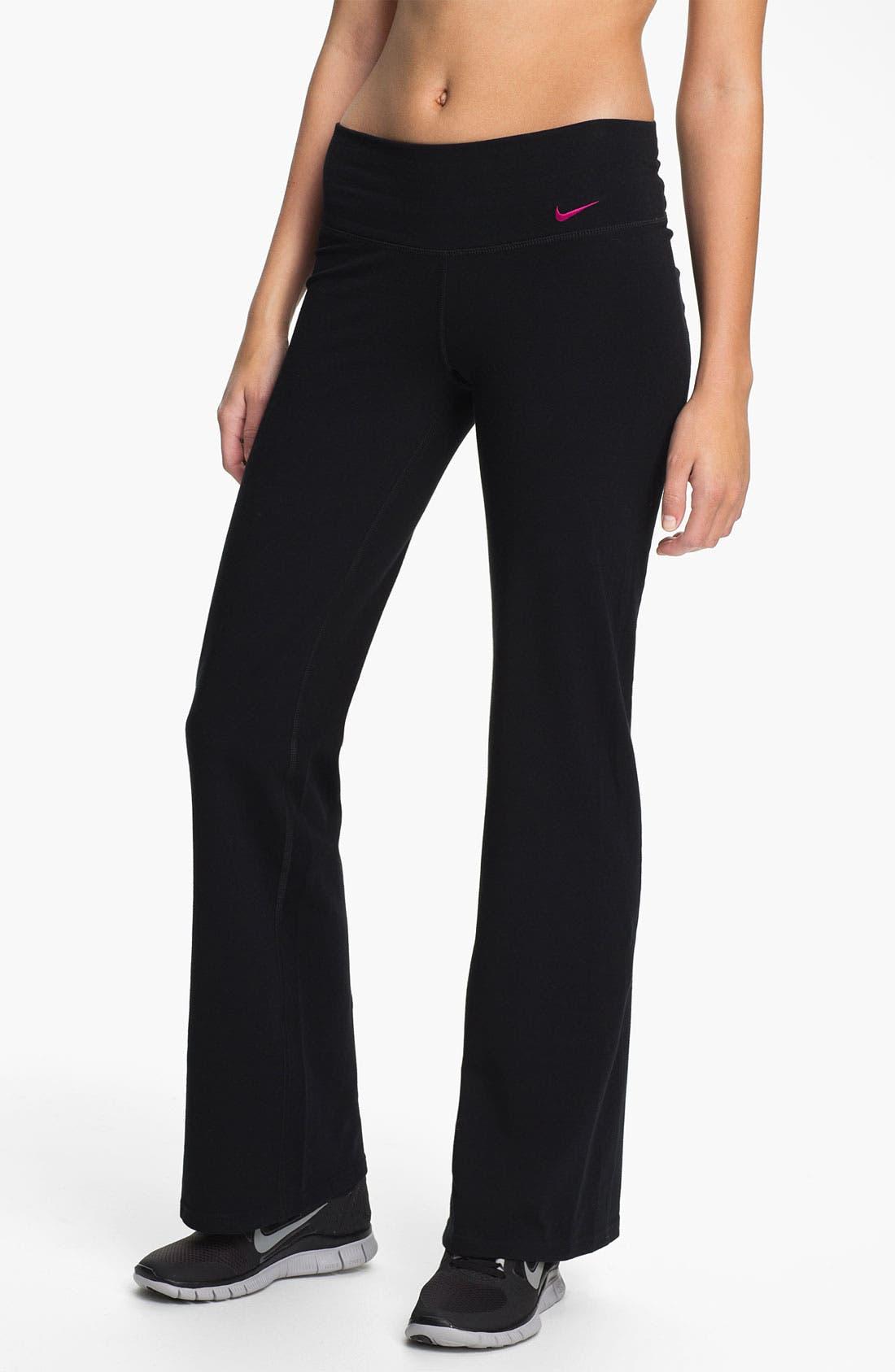 Alternate Image 1 Selected - Nike 'Regular Fit' Dri-FIT Pants