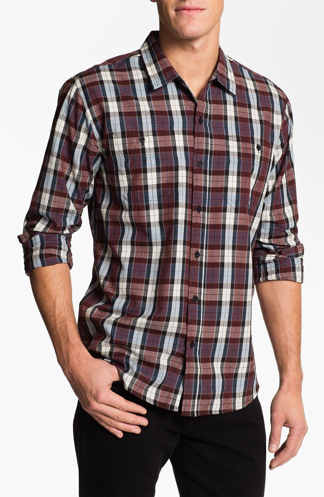 Alternate Image 1 Selected - Ezekiel 'Canyon' Plaid Woven Shirt