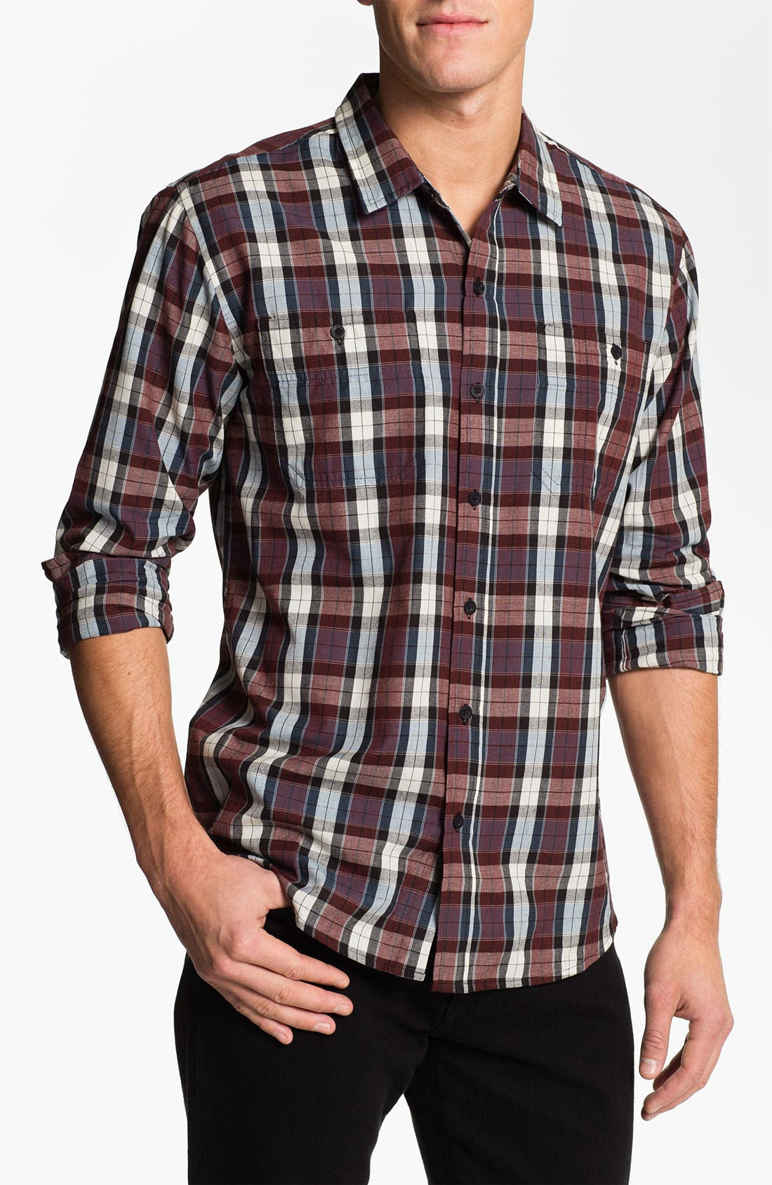 Main Image - Ezekiel 'Canyon' Plaid Woven Shirt