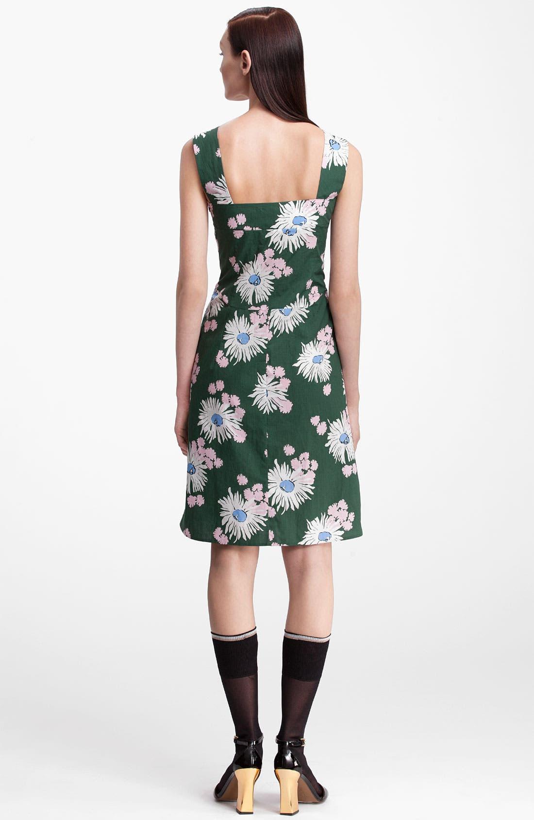 Alternate Image 2  - Marni Floral Print Dress