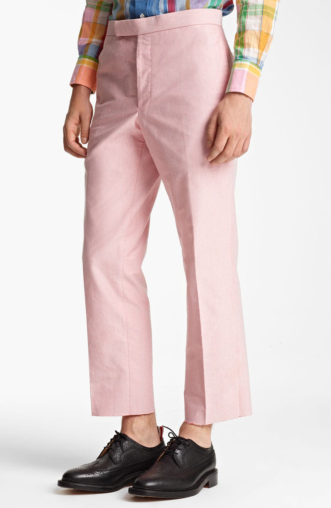 Main Image - Thom Browne Oxford Cotton Trousers