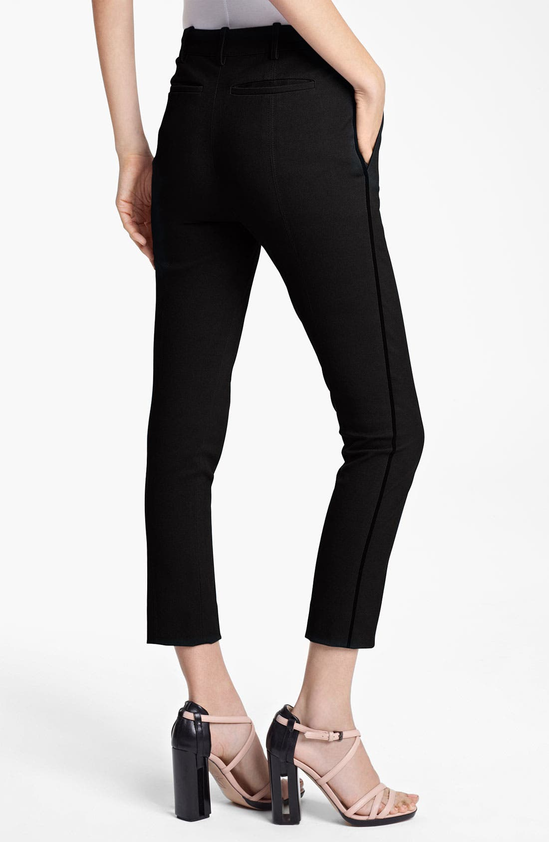 Alternate Image 2  - Reed Krakoff Compact Canvas Crop Pants