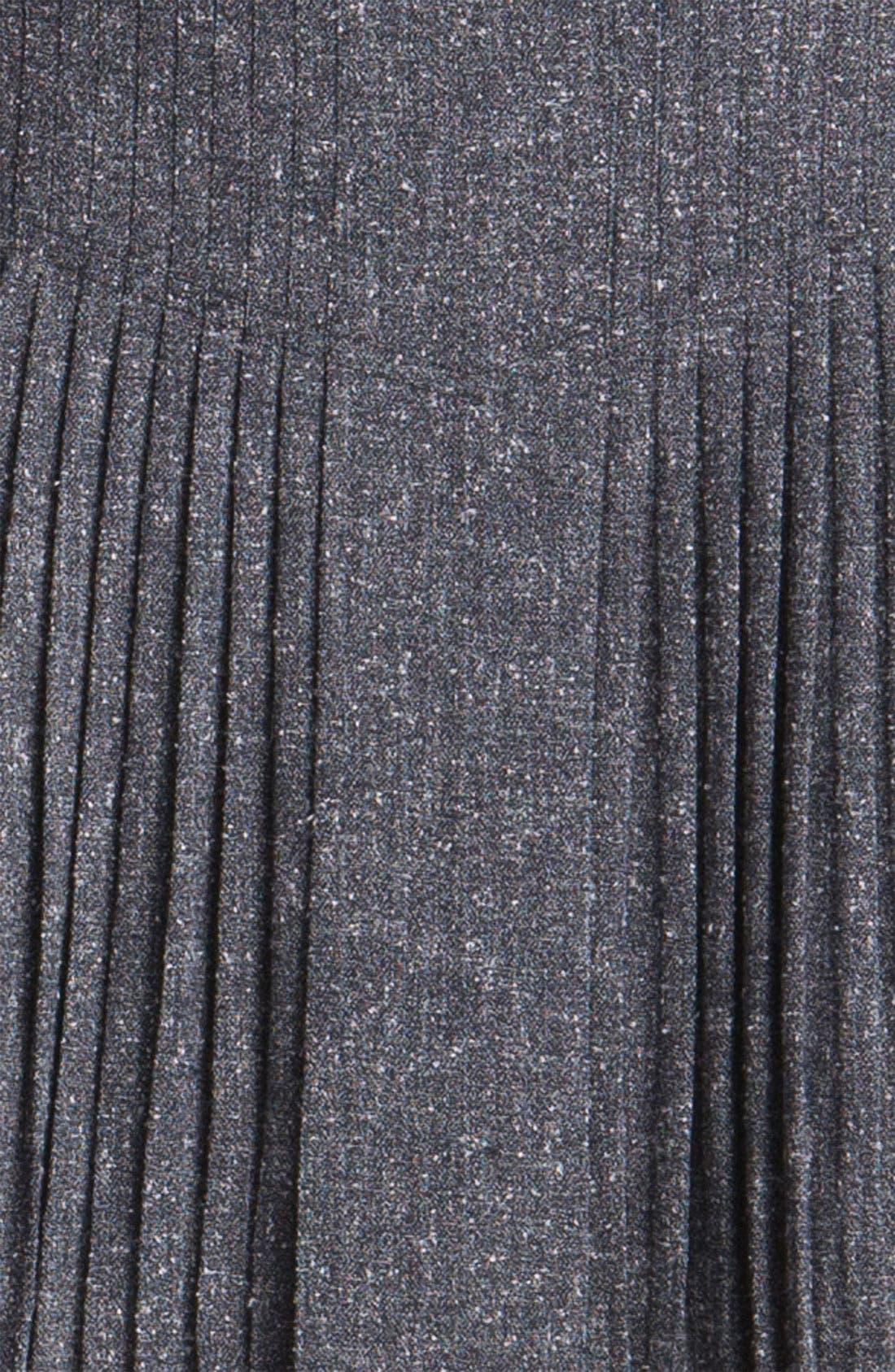 Alternate Image 3  - Halogen® Pleat Front Tweed Skirt (Petite)