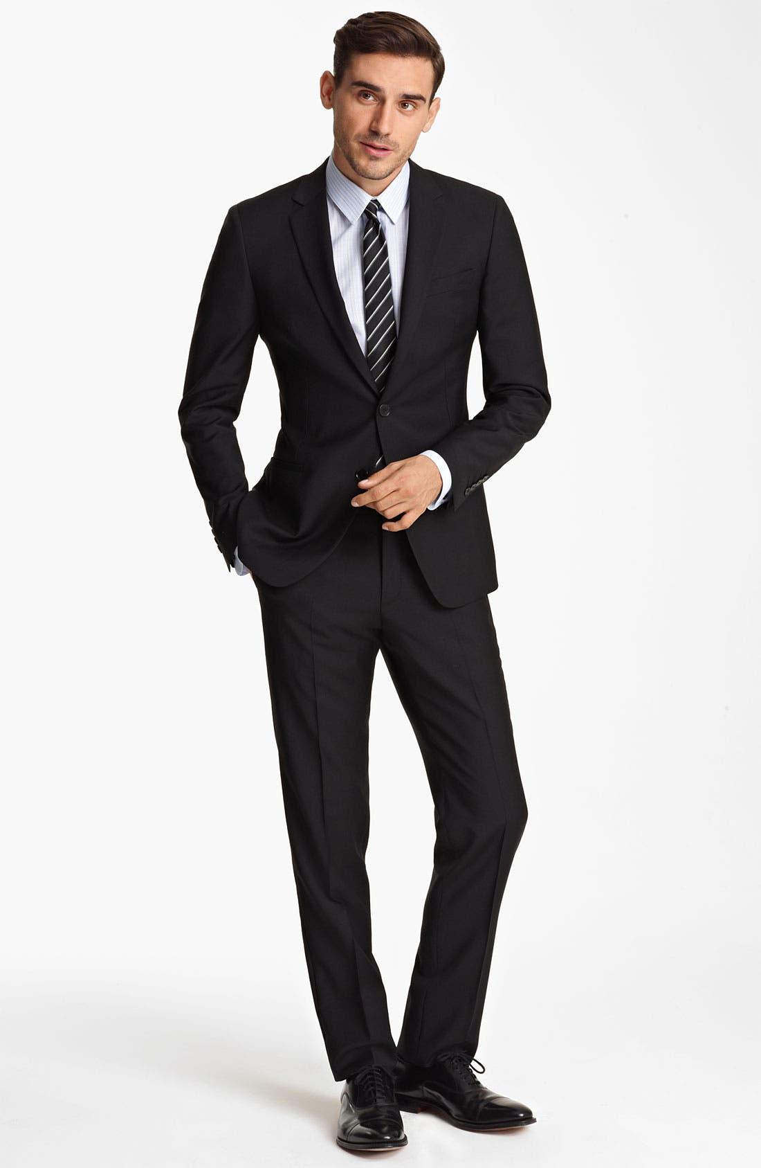 Alternate Image 3  - Dolce&Gabbana Wool Suit