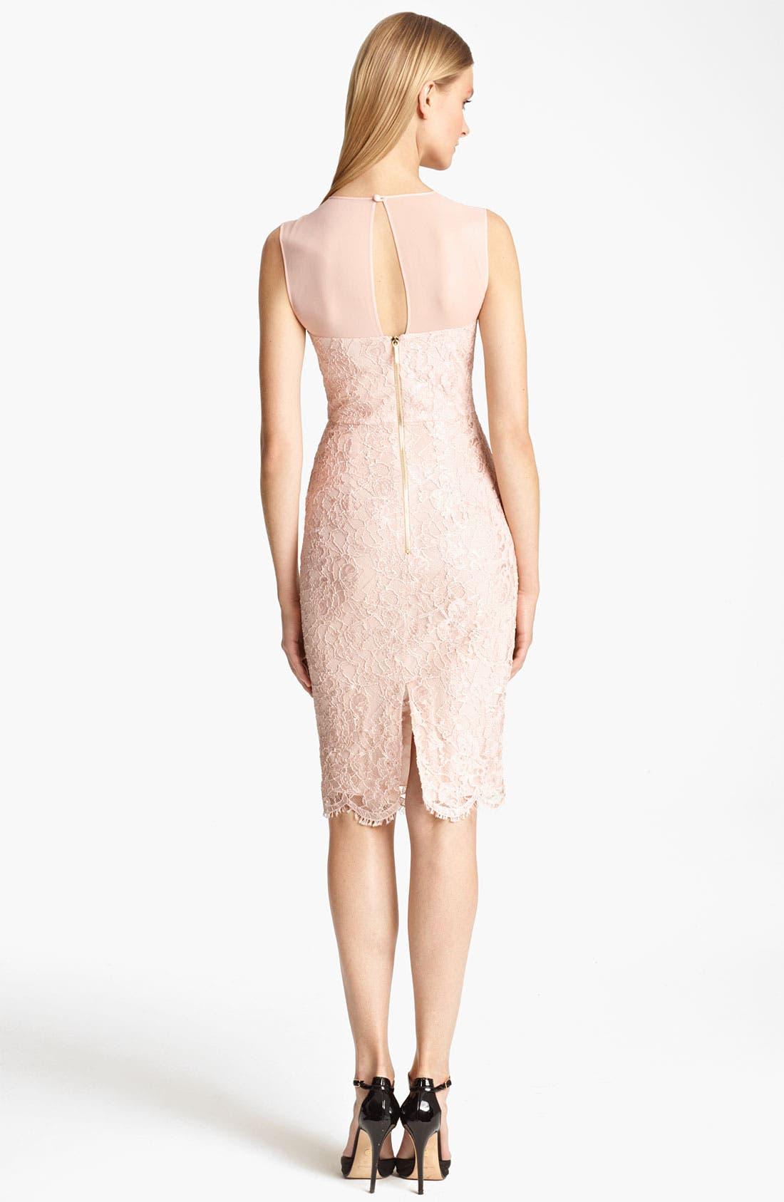 Alternate Image 2  - Emilio Pucci Peplum Lace Dress
