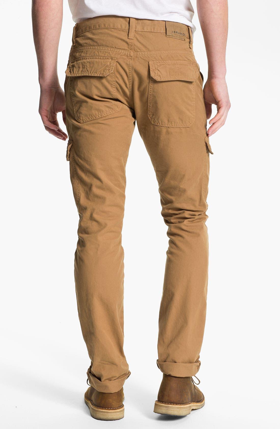 Alternate Image 1 Selected - J Brand 'Kane' Slim Straight Leg Cargo Pants (Online Exclusive)