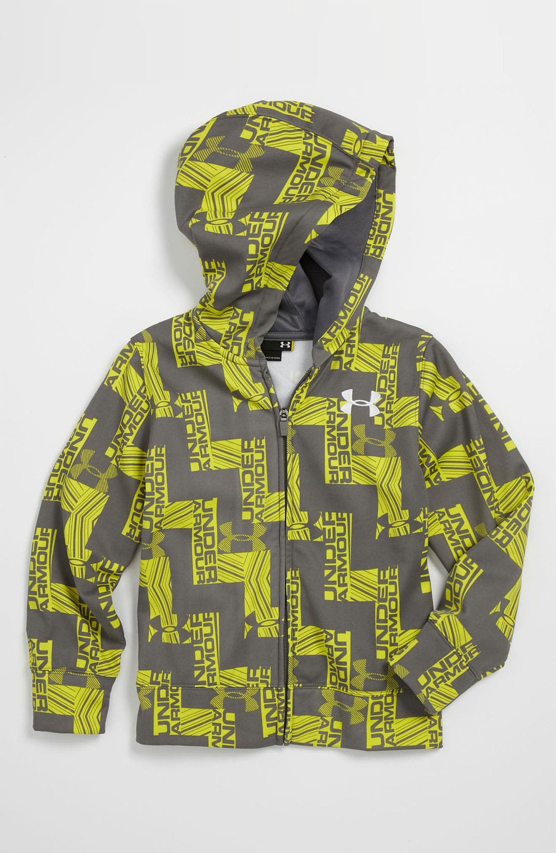 Alternate Image 1 Selected - Under Armour 'Cold Activated' Color Changing All Season Gear® Hoodie (Little Boys)