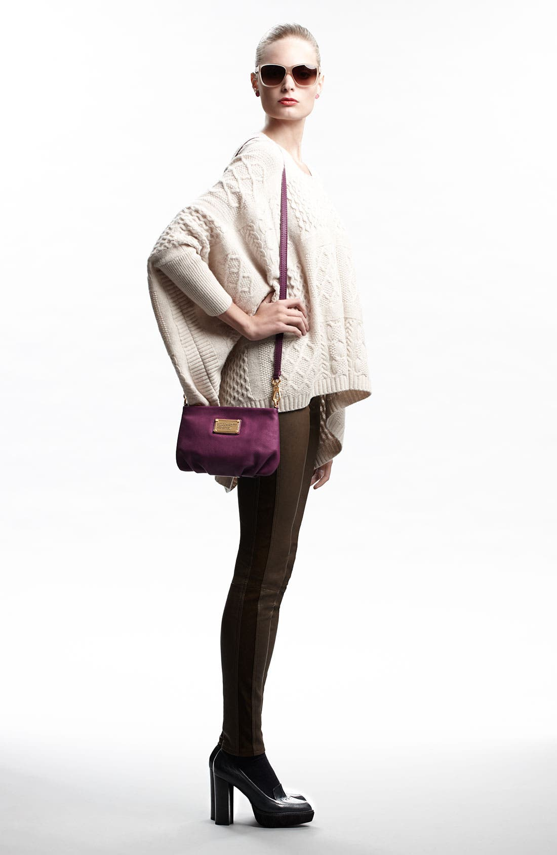 Alternate Image 4  - MARC BY MARC JACOBS 'Glenda' Cable Knit Sweater