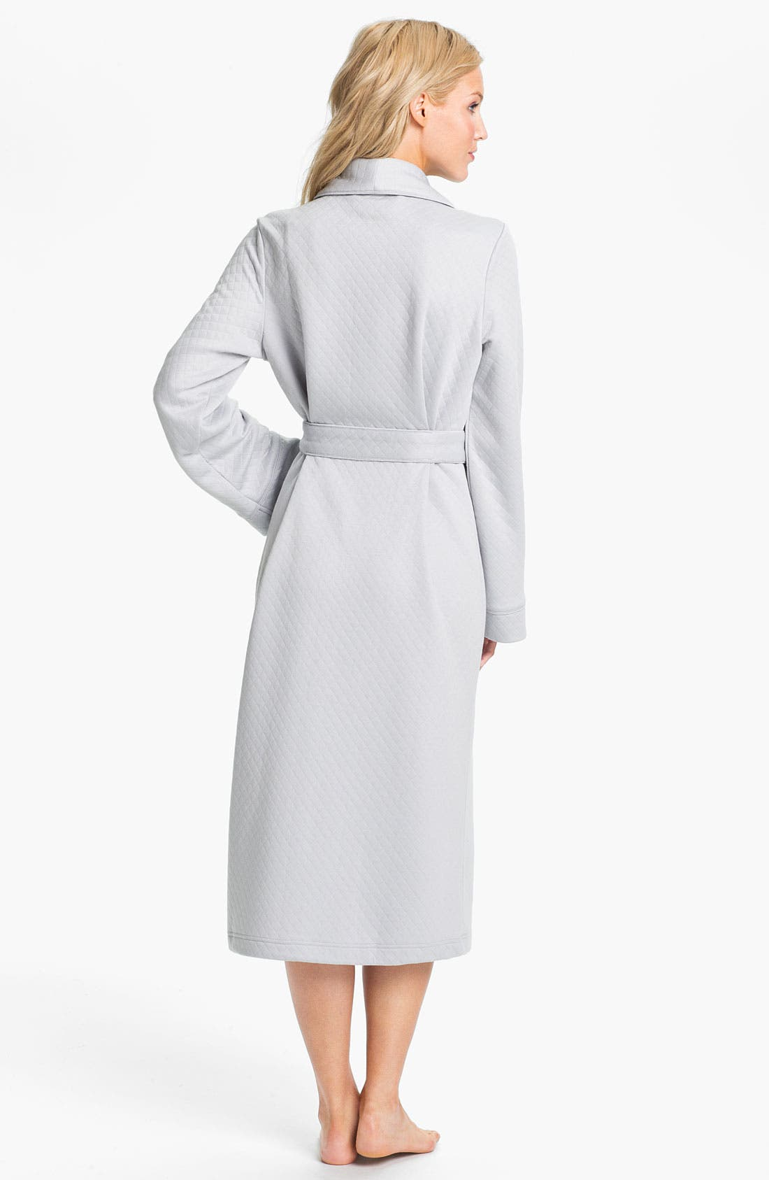 Alternate Image 2  - Nordstrom Soft Quilted Robe